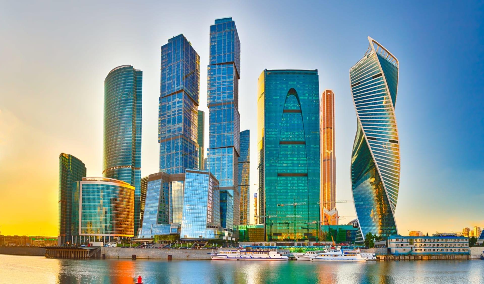 MS Volga Dream  Die südliche Wolga ab Moskau: Russland_Moskau_BusinessCenter_