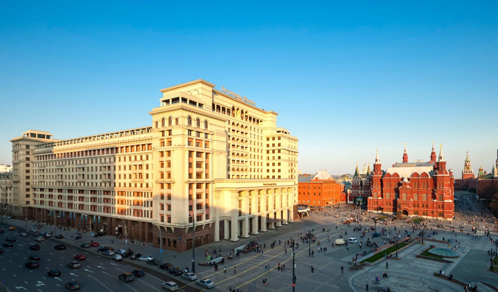 Hotel Four Seasons Moskau: Russland_Moskau_Four Seasons_Aussen