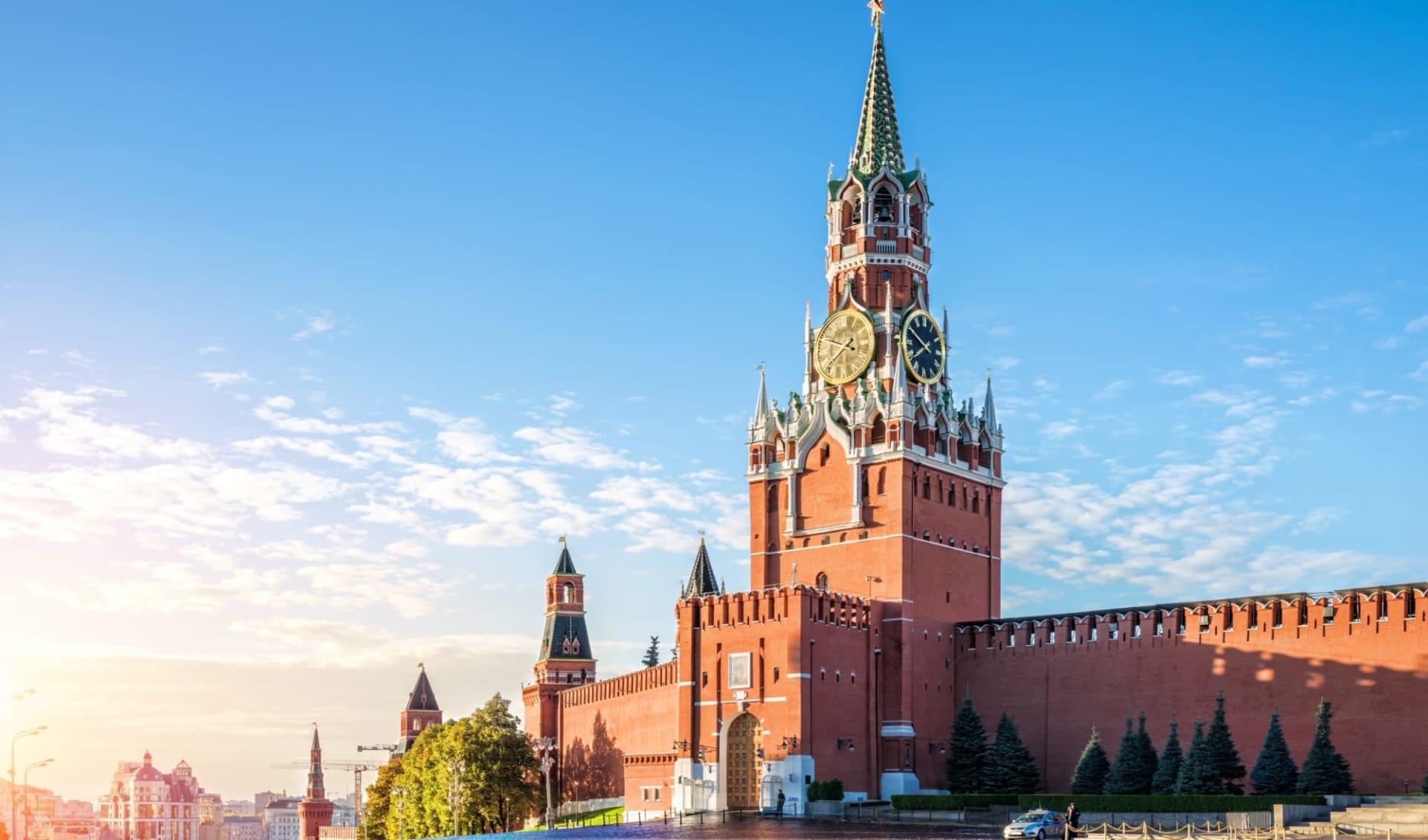 MS Volga Dream, Charme der Wolga von Moskau bis St. Petersburg: Russland_Moskau_Kreml_