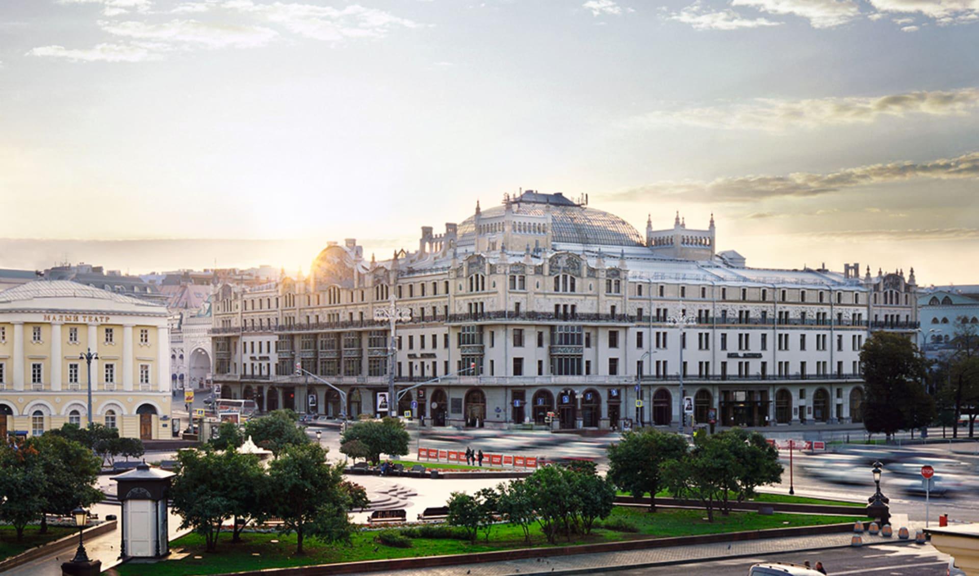 Hotel Metropol in Moskau: Russland_Moskau_Metropol_Morgenstimmung