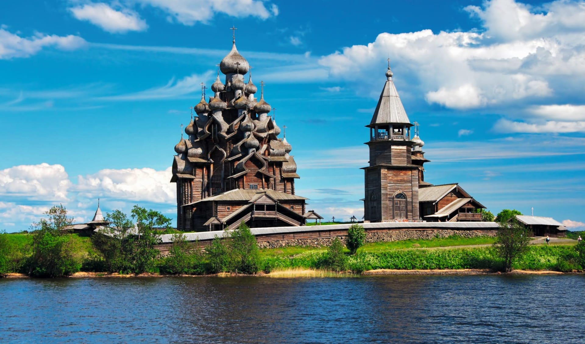 Abenteuer Karelien ab St. Petersburg: Russland_Onegasee_Kishi_