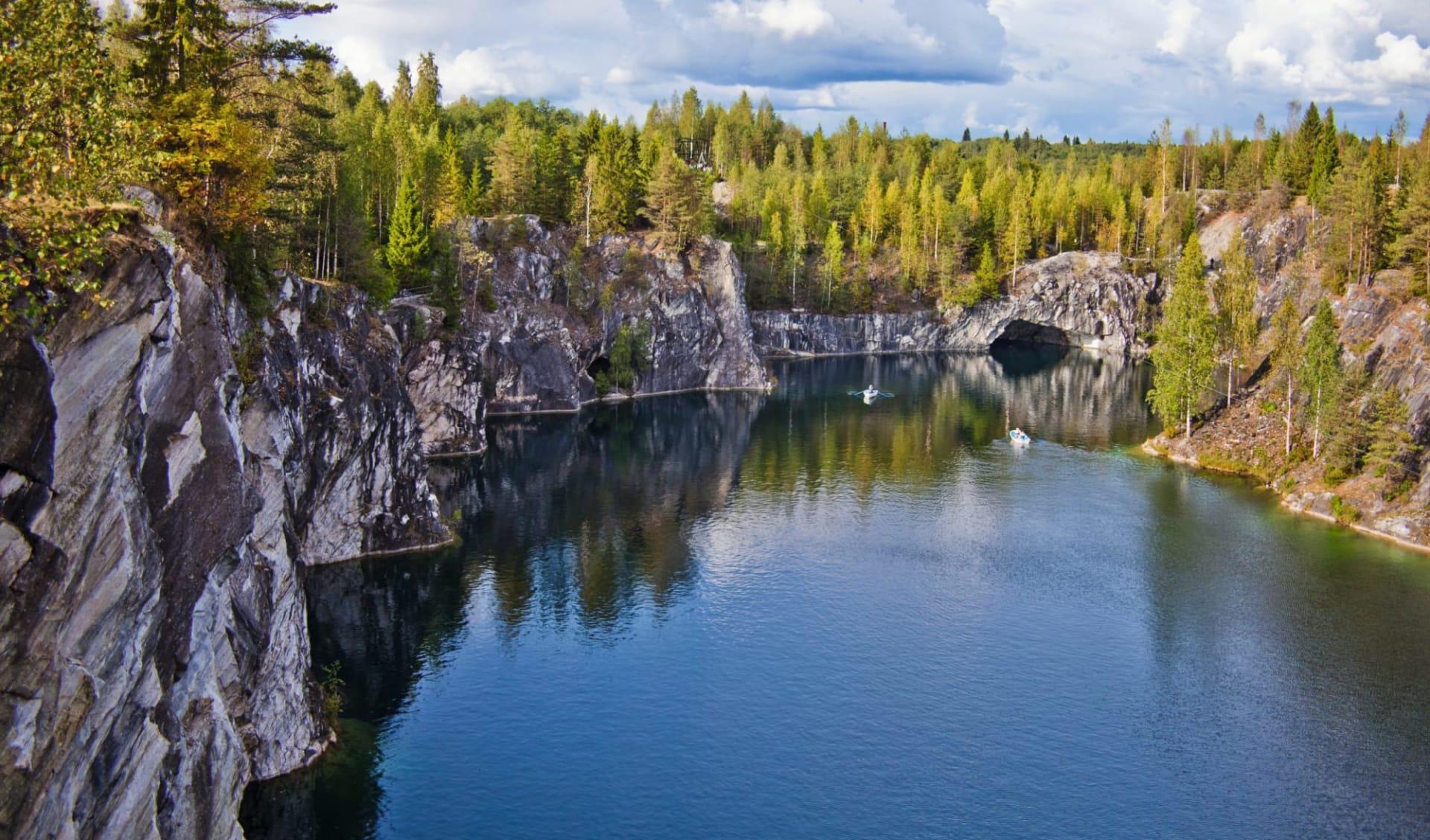 Abenteuer Karelien ab St. Petersburg: Russland_Ruskeala_Marmorstein_