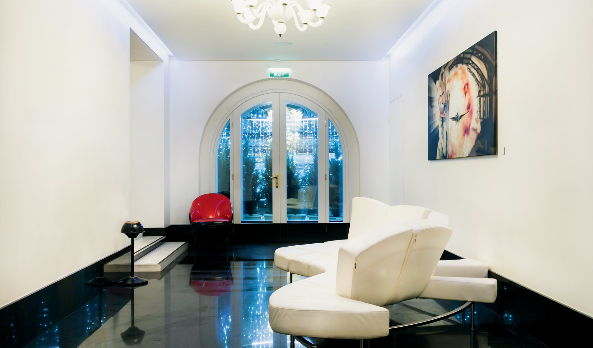 Demetra Art-Hotel in St. Petersburg: Russland_St.Petersburg_DemetraArt_Halle3