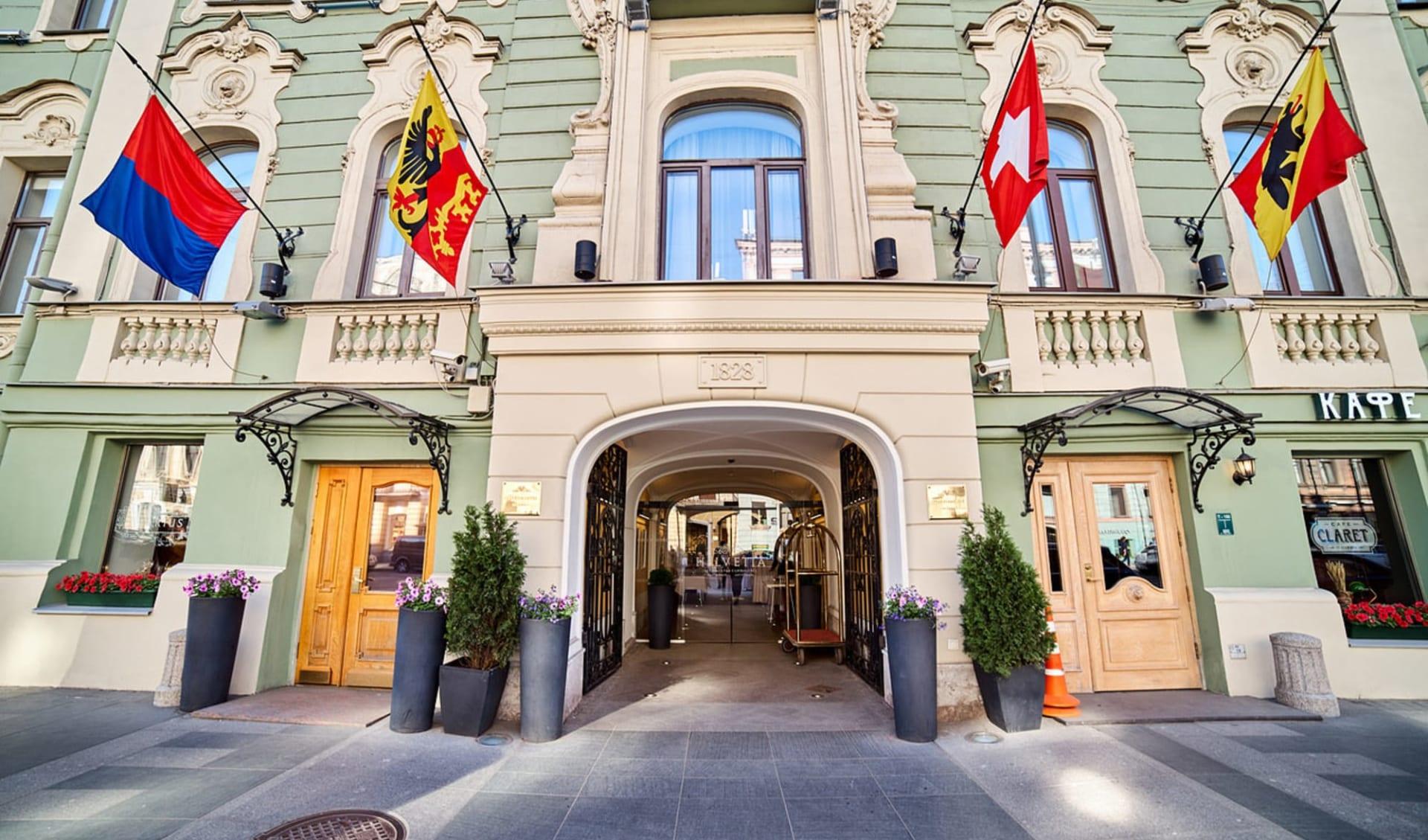 Helvetia Deluxe Hotel in St. Petersburg: Russland_St.Petersburg_Helvetia_Aussen