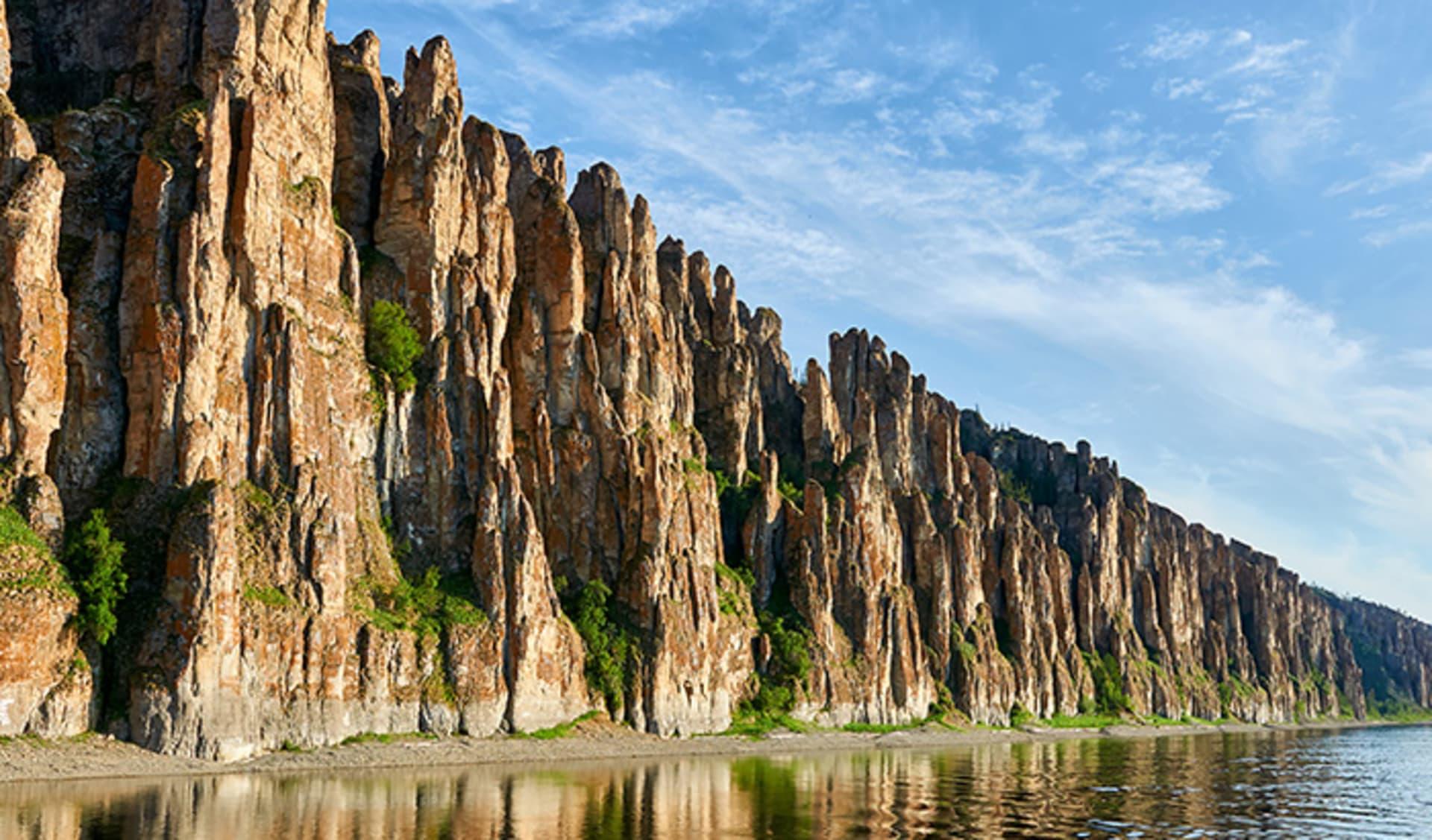 Lena Pillars, Nationalpark, Jakutia, Fluss Lena, Russland