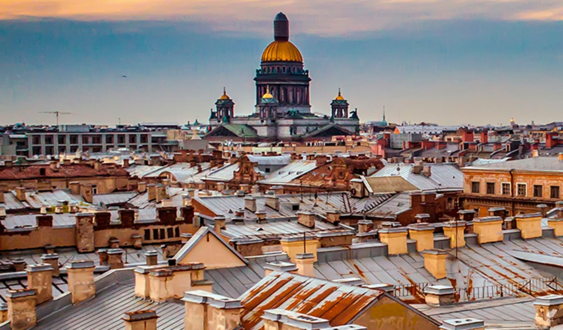 Die Kathedrale von Saint Isaac, St. Petersburg, Russland