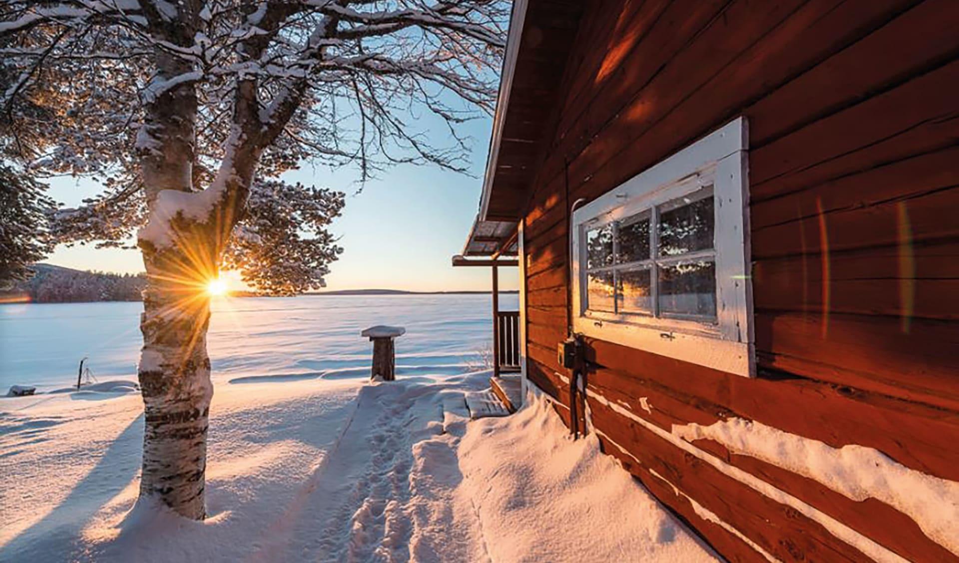 Sandsjögården - die letzte Wildnis Europas ab Luleå: Sandsjögården