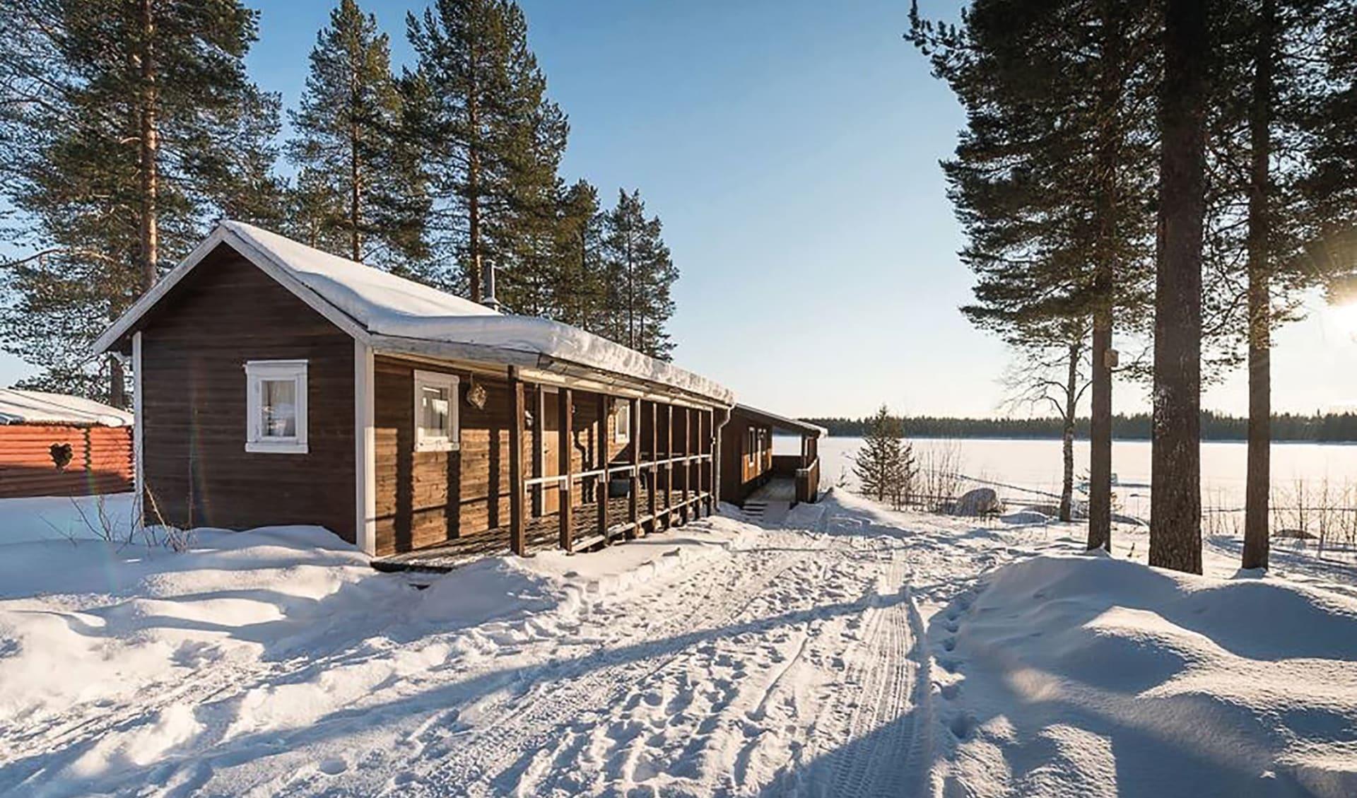 Sandsjögården - die letzte Wildnis Europas ab Luleå: Sandsjögården2