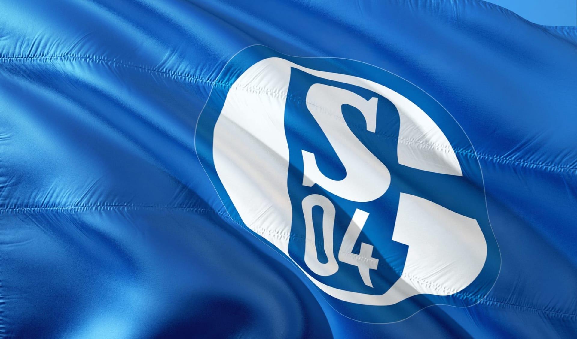 FC Schalke 04 ab Gelsenkirchen: schalke04flagge