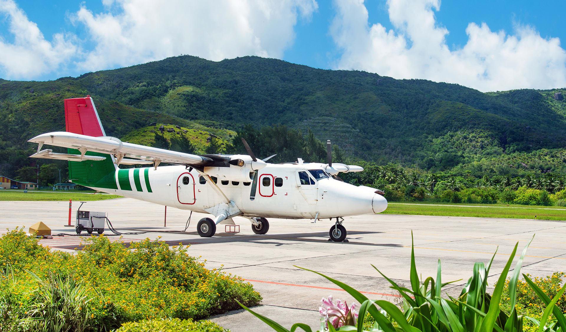 Inselflugzeug, Seychellen