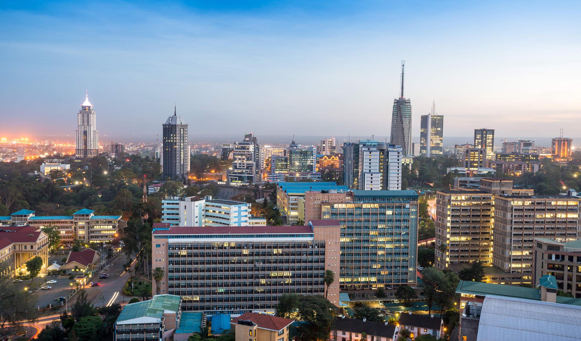 Nairobi, Kenia, Afrika