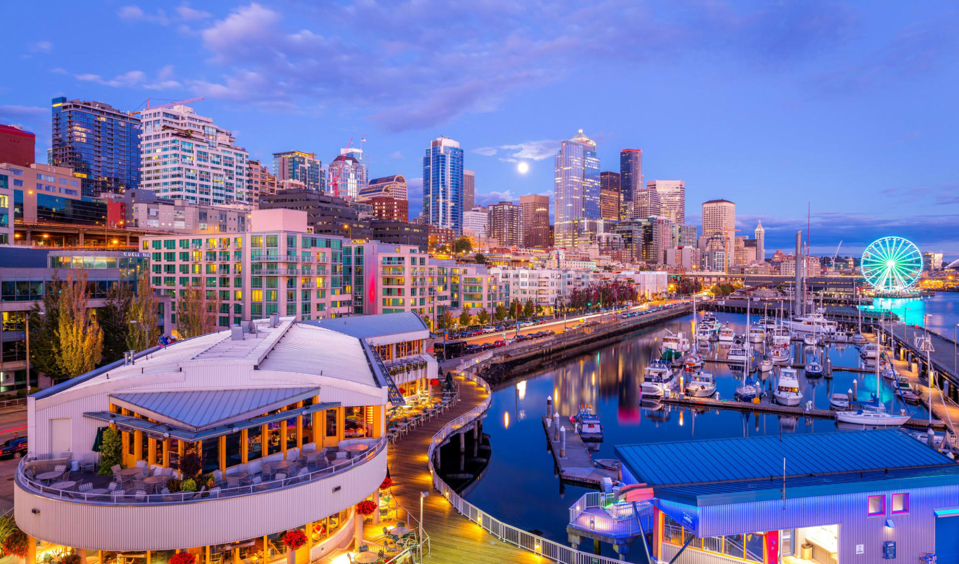 Executive Hotel Pacific in Seattle: shutterstock_355279232_seattle
