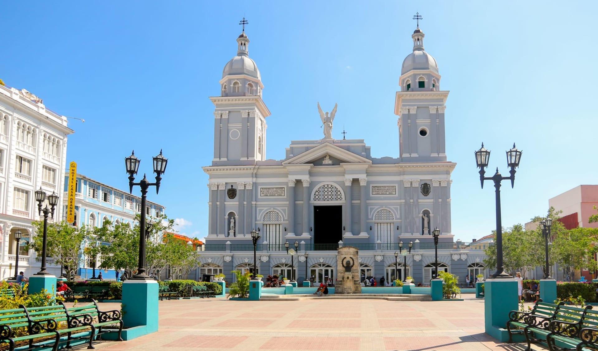 Casa Granda in Santiago de Cuba: shutterstock_681376003_santi