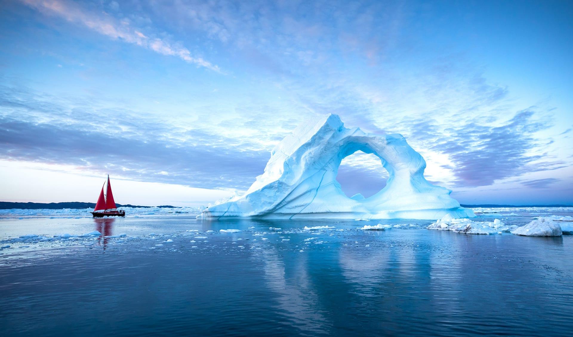 Segelschiff, Arktis