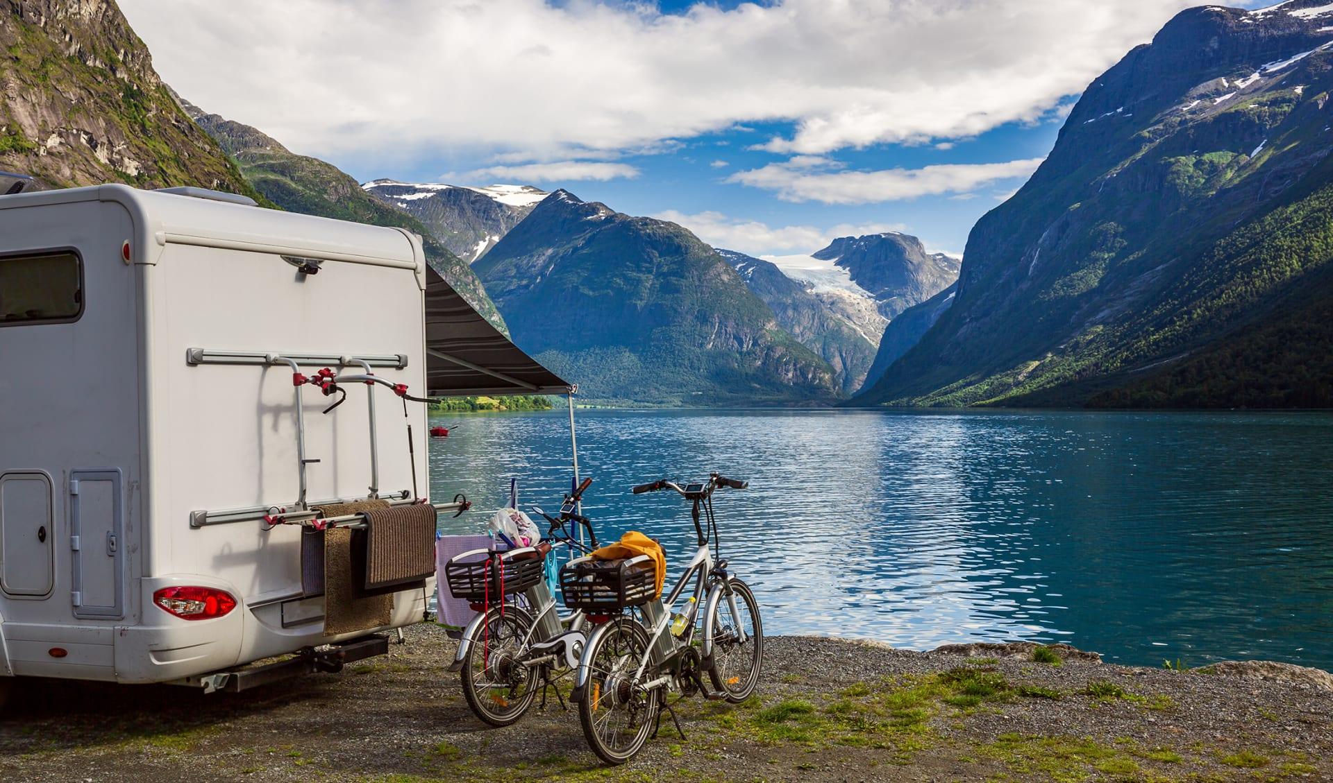 Camping, Camper, Norwegen, Skandinavien
