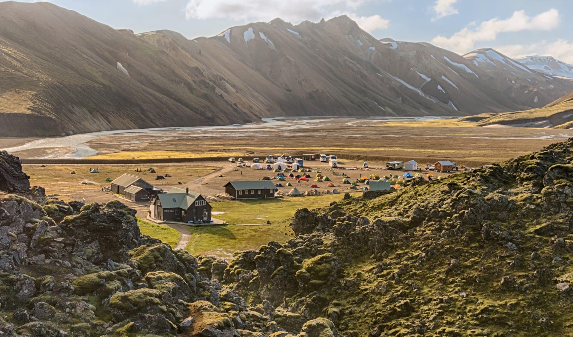 Island, Camping, Camper, Skandinavien