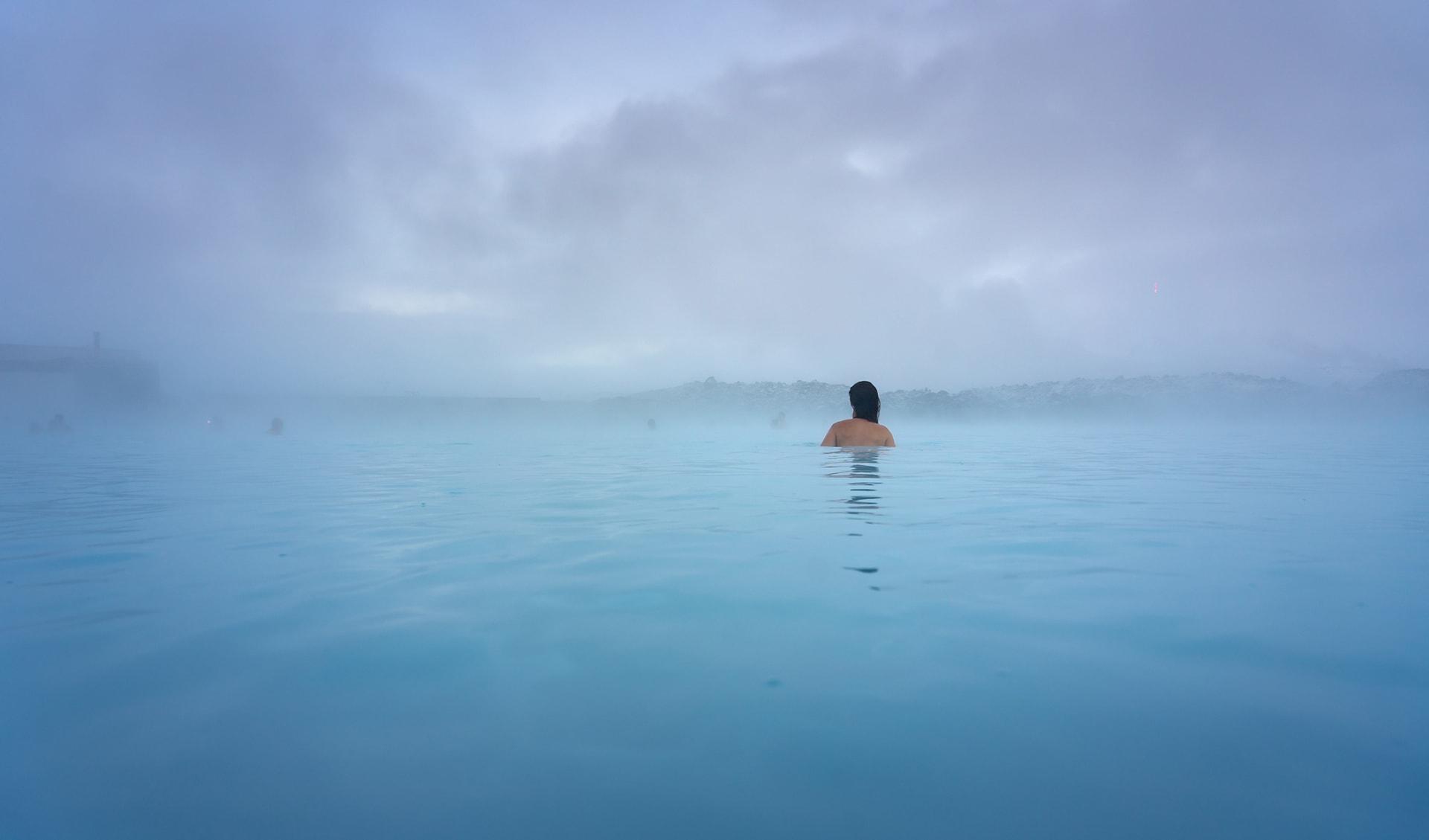 Blue Lagoon, Island