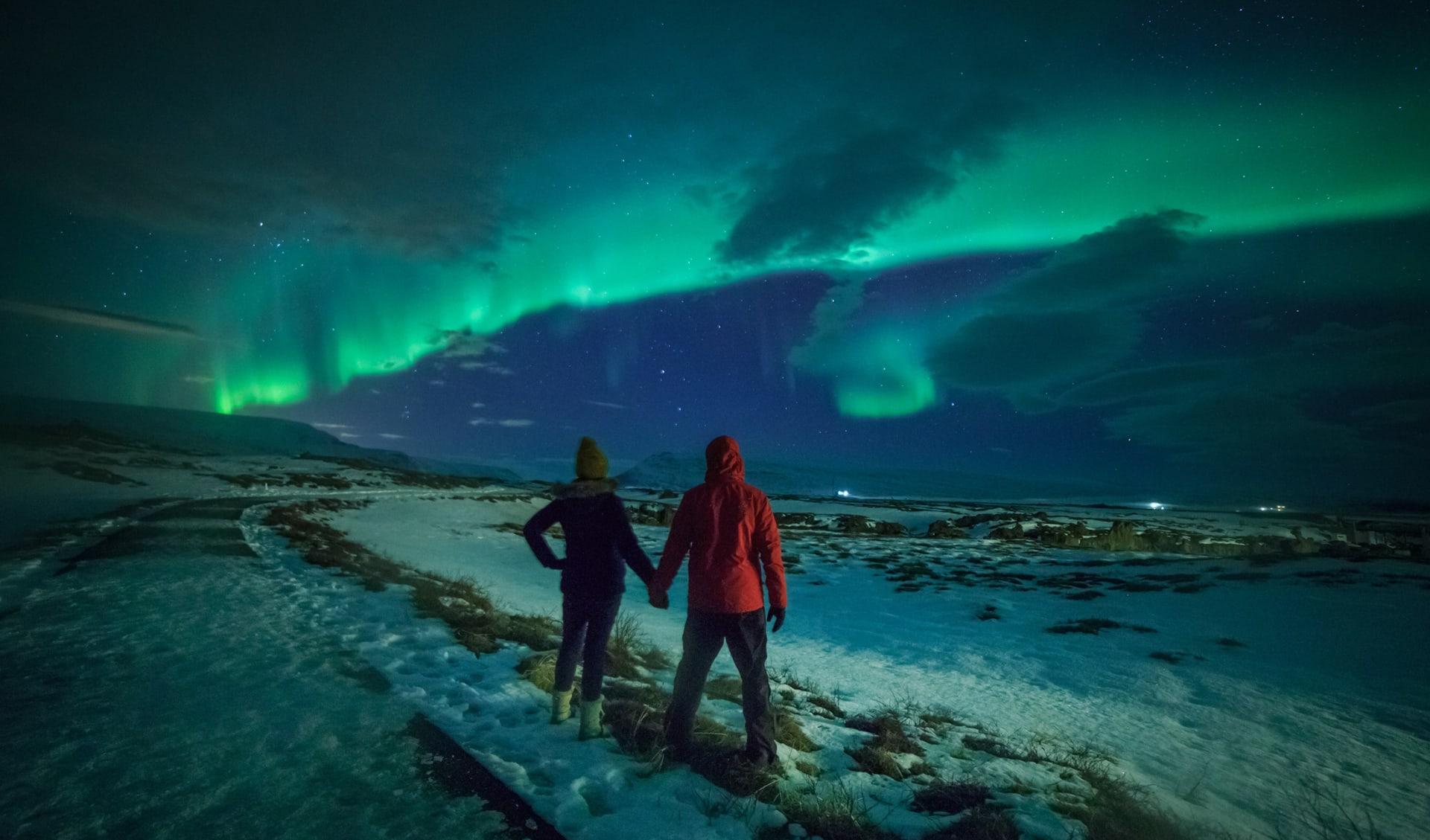 Nordlicht, Island