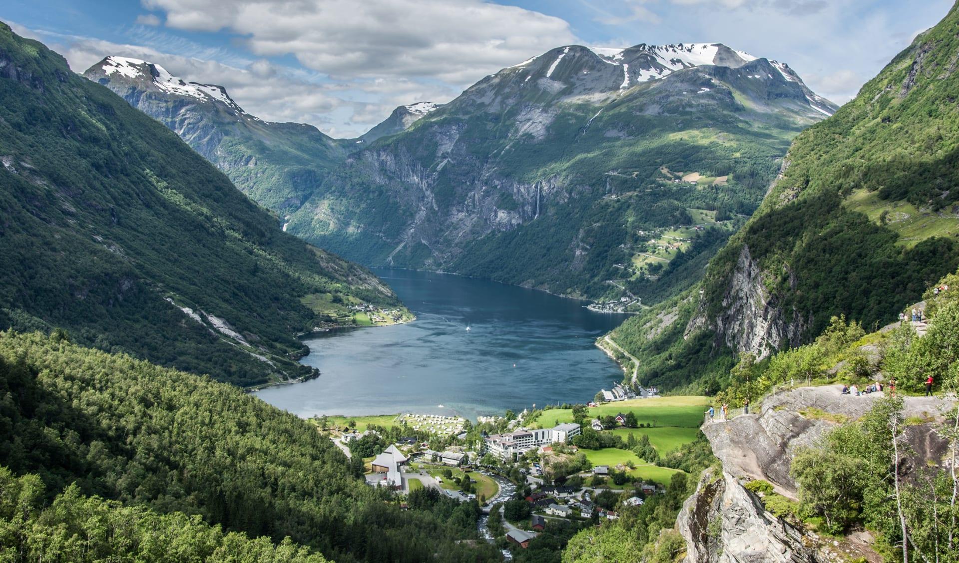 Geirangerfjord, Skandinavien