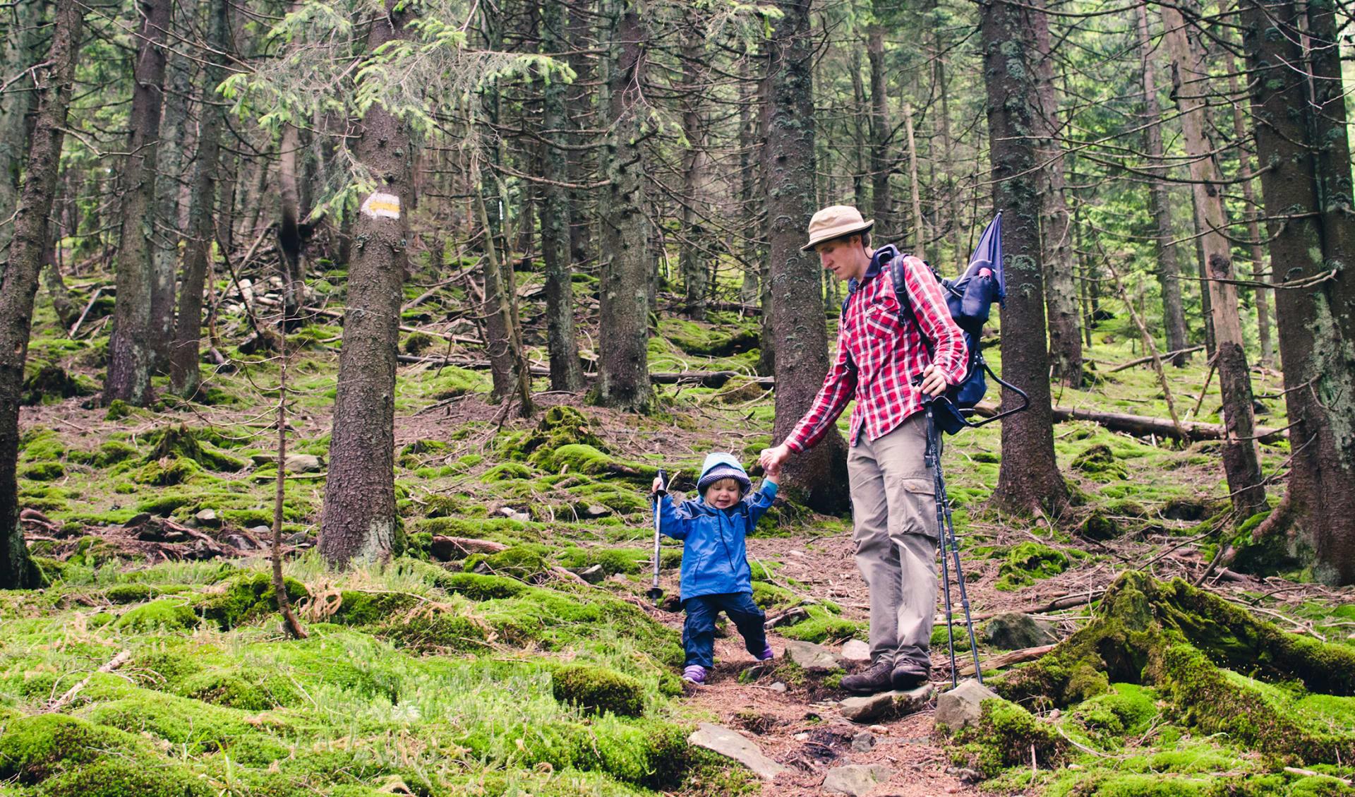 Reisen mit Kindern, Wandern, Schweden