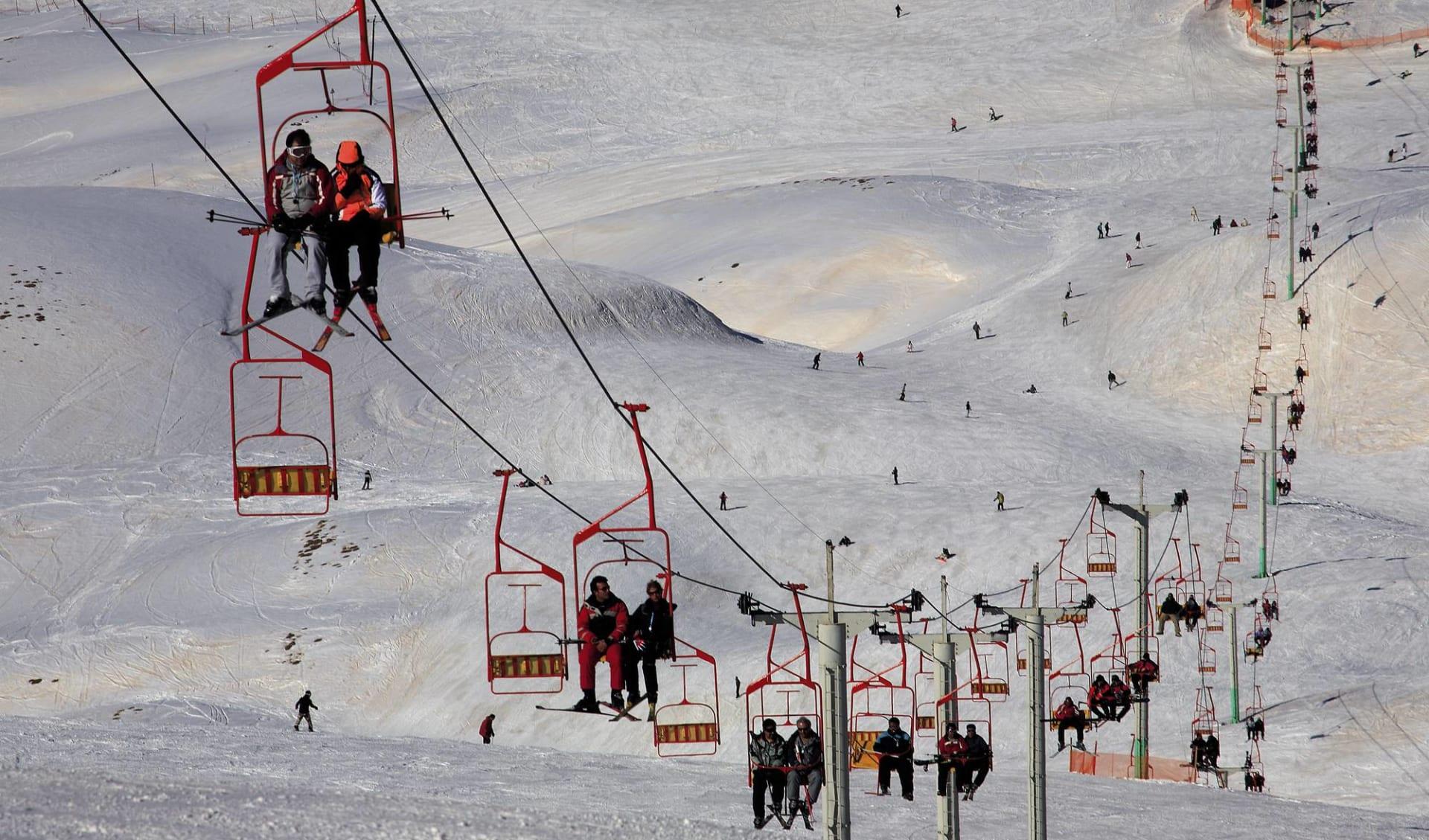 Skifahren in Persien ab Teheran: Skiing in Iran