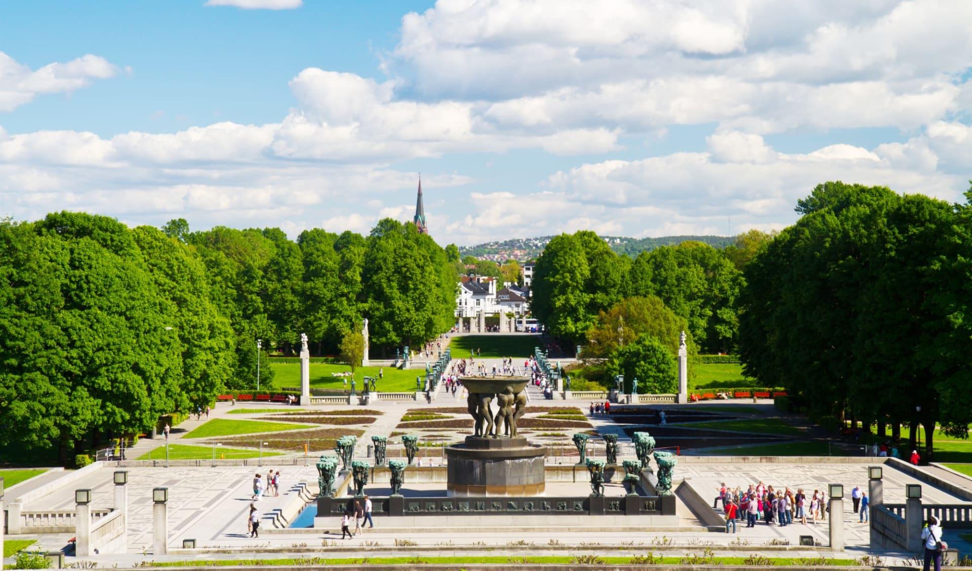 Comfort Grand Central in Oslo: Skulpturen im Vigeland Park Oslo Norwegen