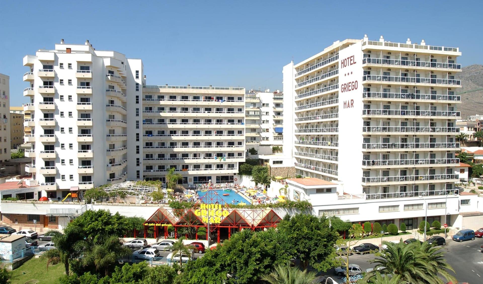 Torremolinos - Marconfort Griego Hotel ab Marbella: Spanien - Malaga - Griego - Aussenansicht