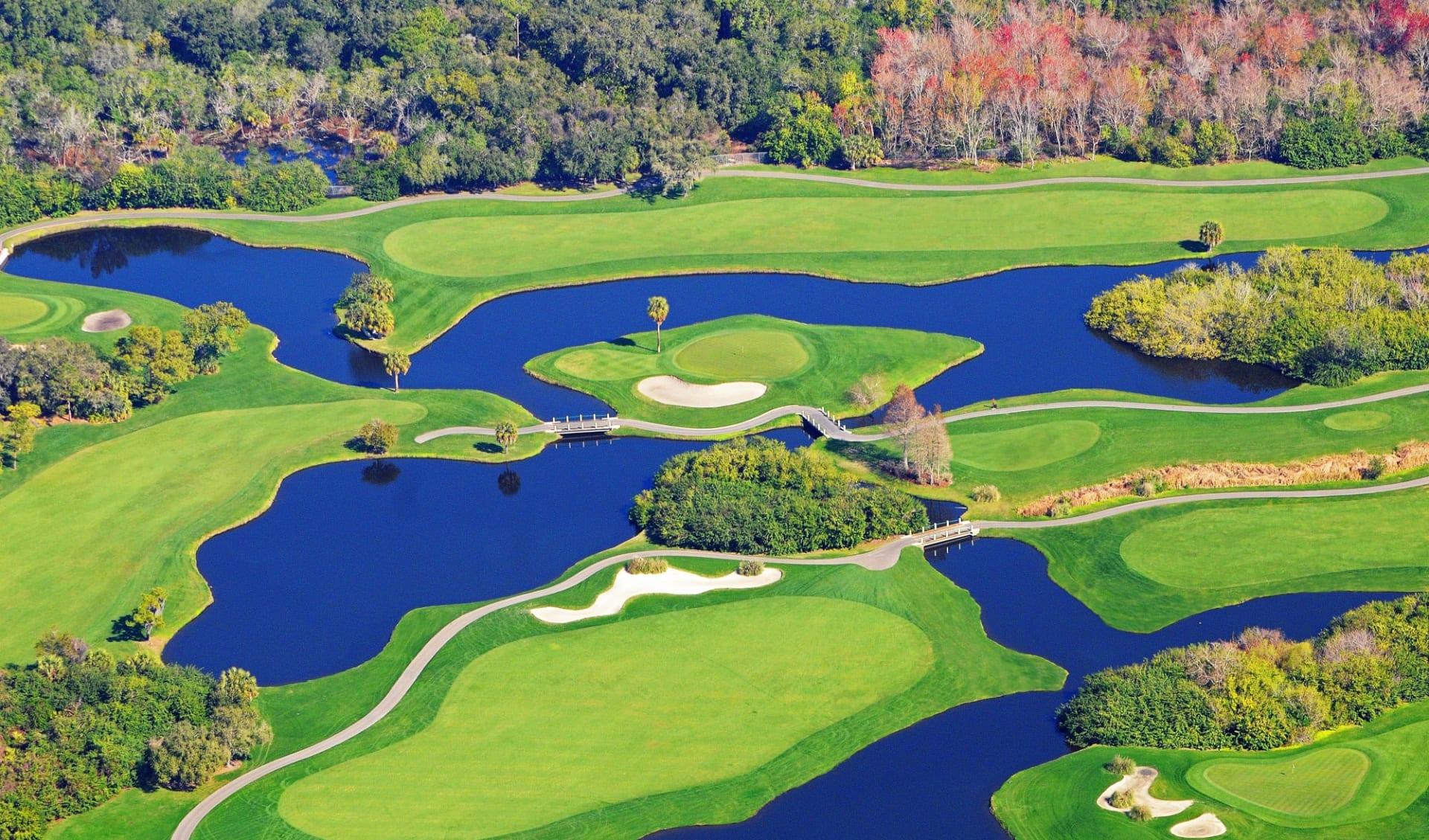 Salamander Spa & Golf Resort Innisbrook in Tampa: Salamander Spa & Golf Resort Innsibrook - North Course