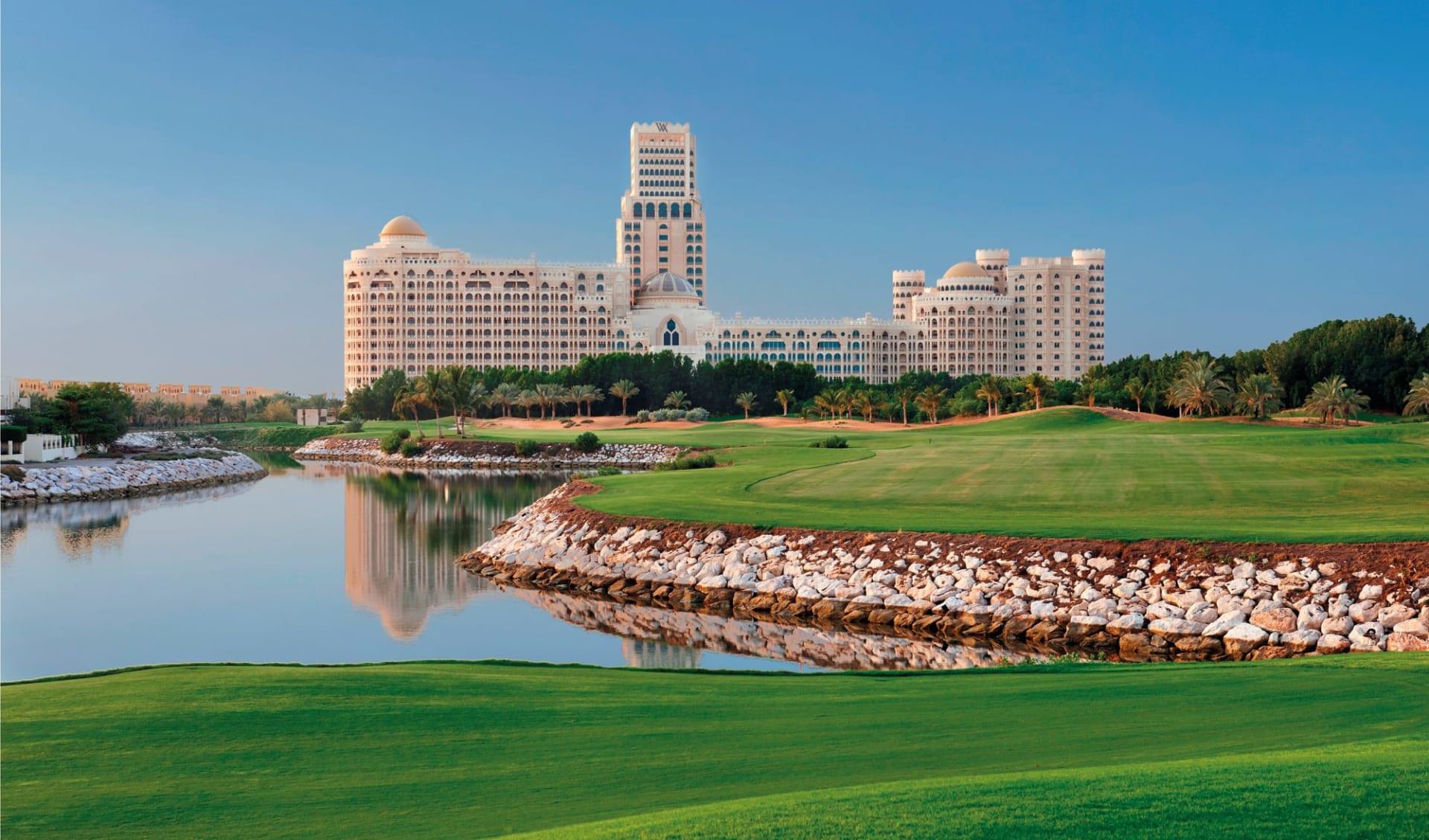 Waldorf Astoria Ras Al Kaimah: Waldorf Astoria Ras Al Kaimah - Al Hamra Golfplatz