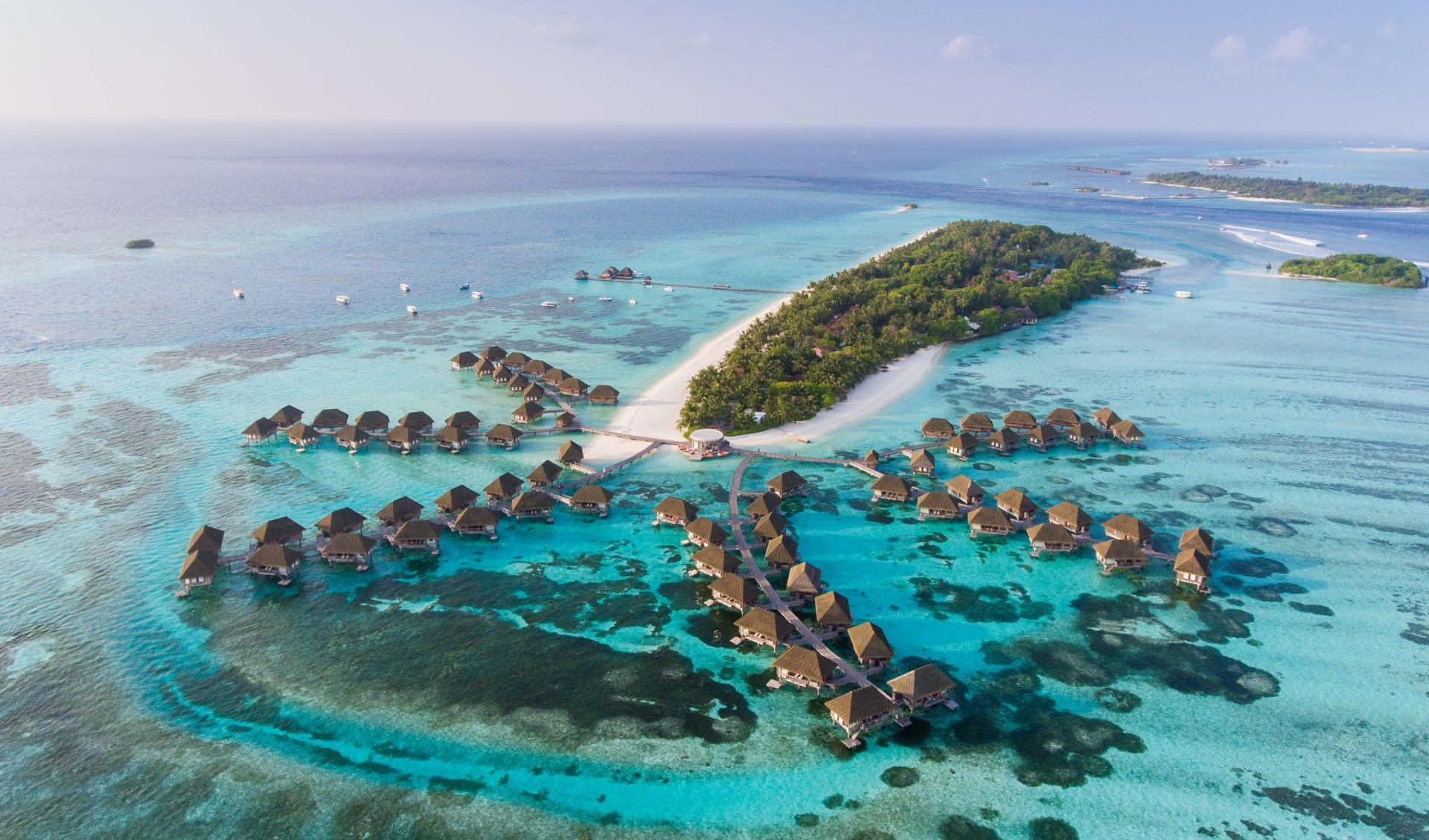 Bungalows, Malediven