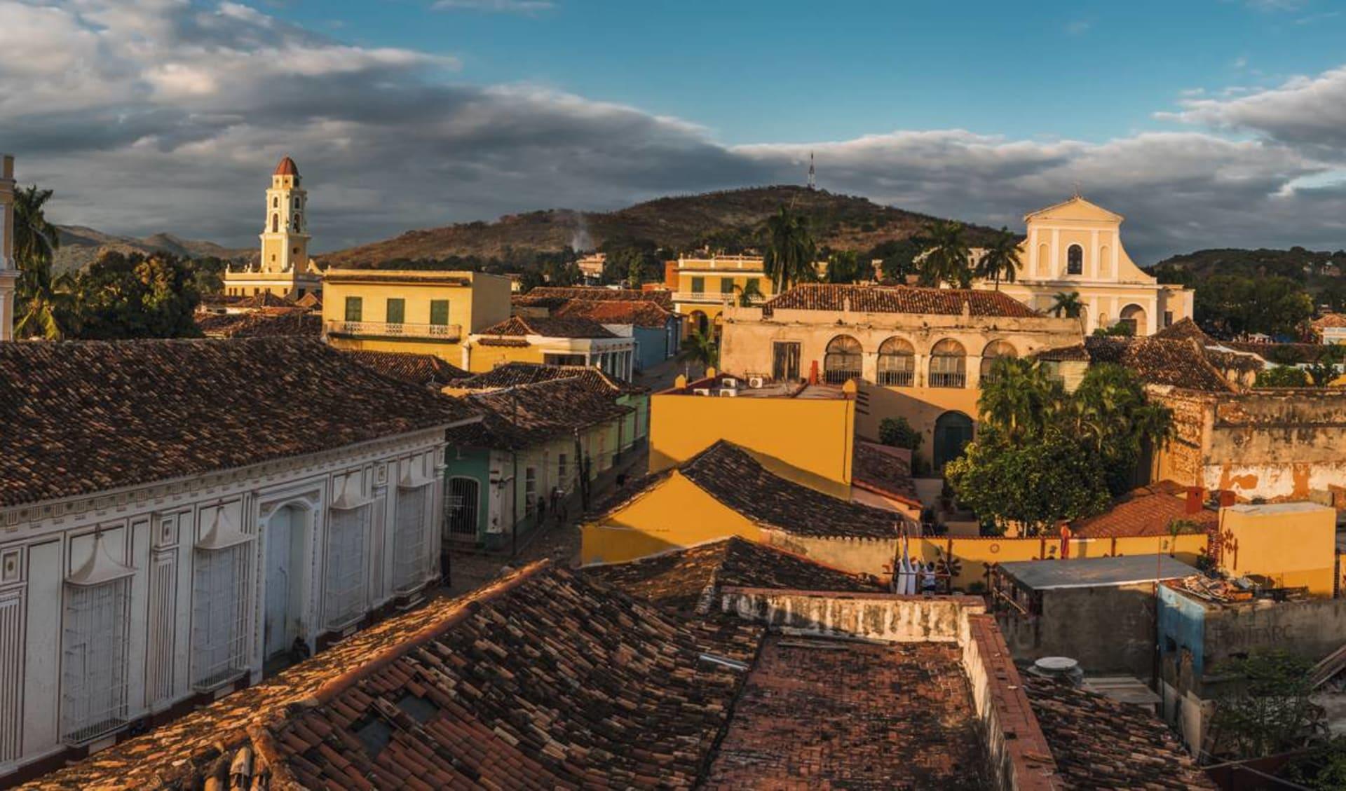 Cuba von West nach Ost ab Havanna: Stadt Trinidad - Panorama Trinidad - c