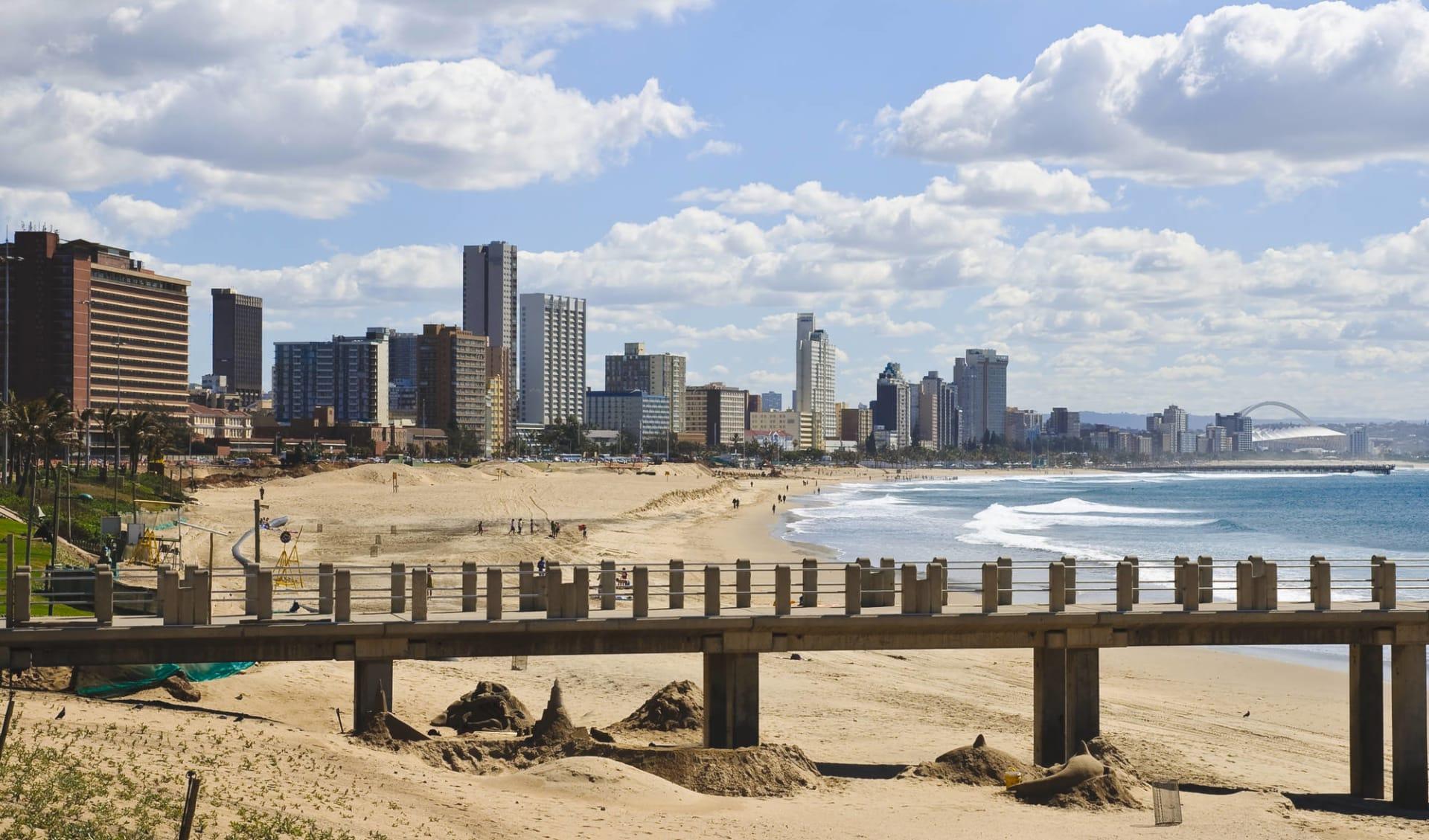 Südafrika Klassiker Privatreise ab Johannesburg: Südafrika - Durban - Skyline