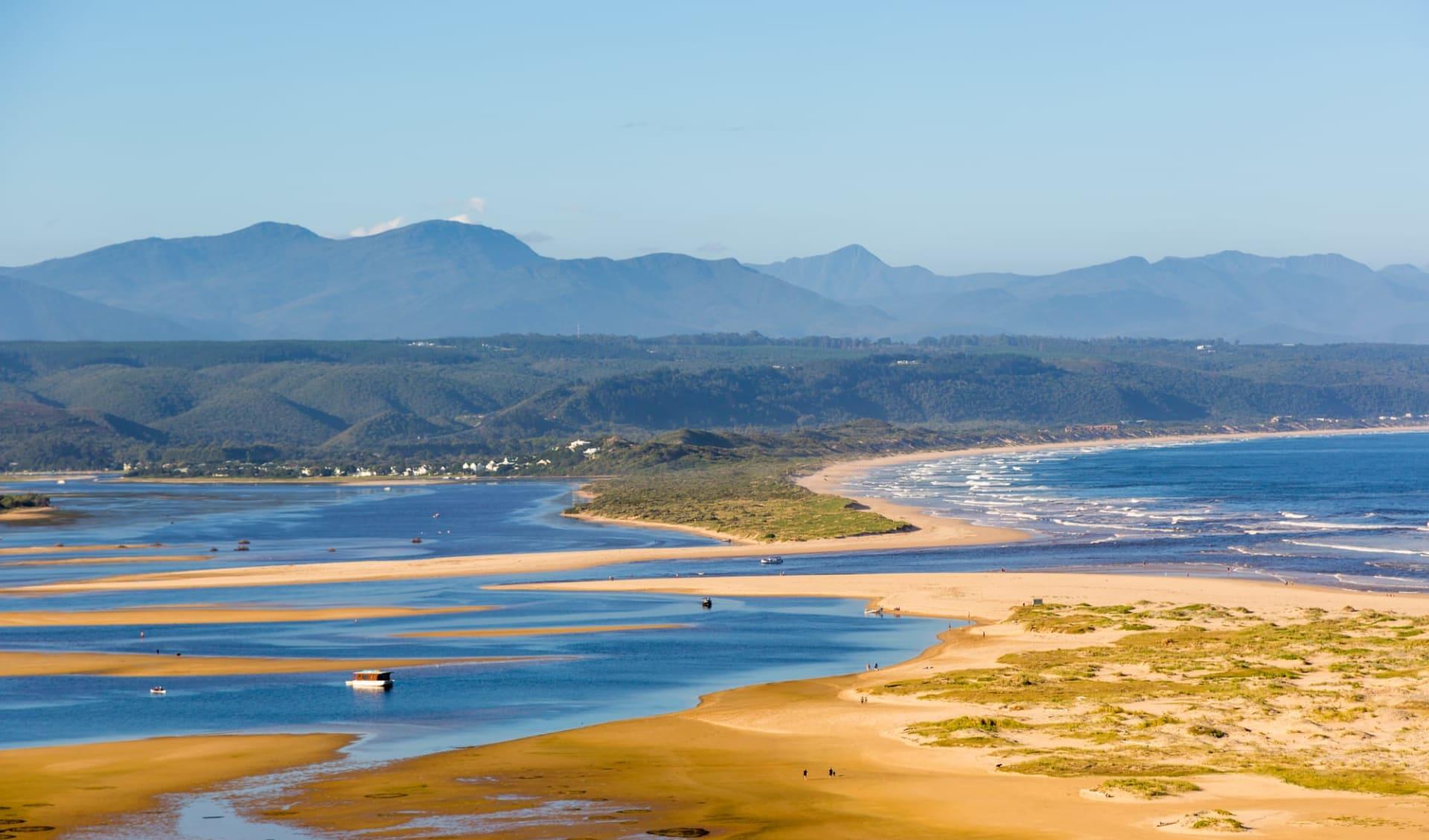 Kaléidoscope du Cap ab Kapstadt: Südafrika - Garden Route - Knynsa Lagune