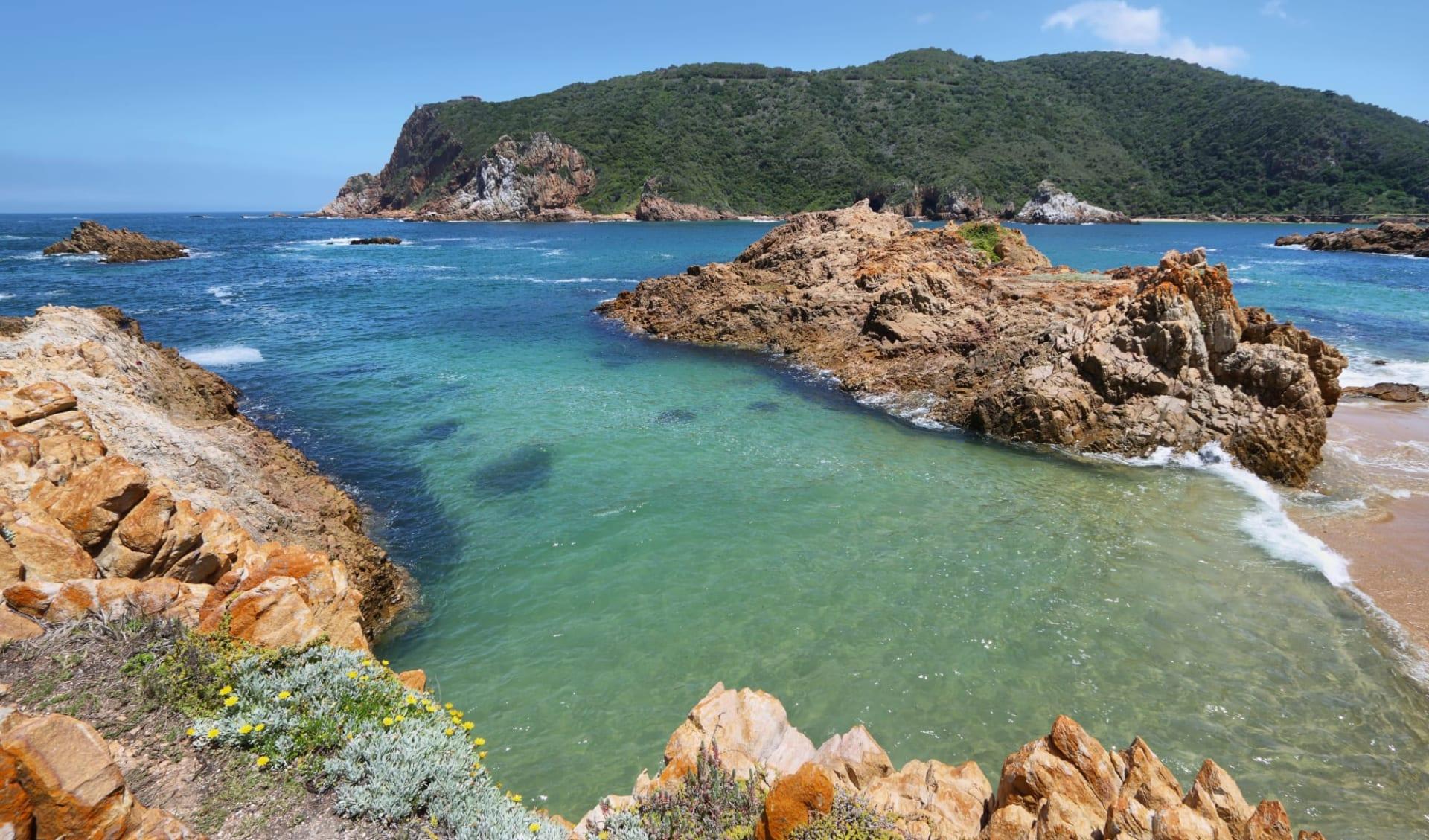 Südafrika erfahren ab Kapstadt: Südafrika - Garden Route - Knysna Lagune