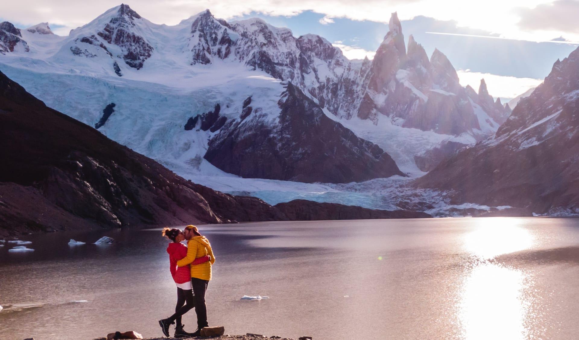 Flitterwochen, Honeymoon, Trekking, Argentinien