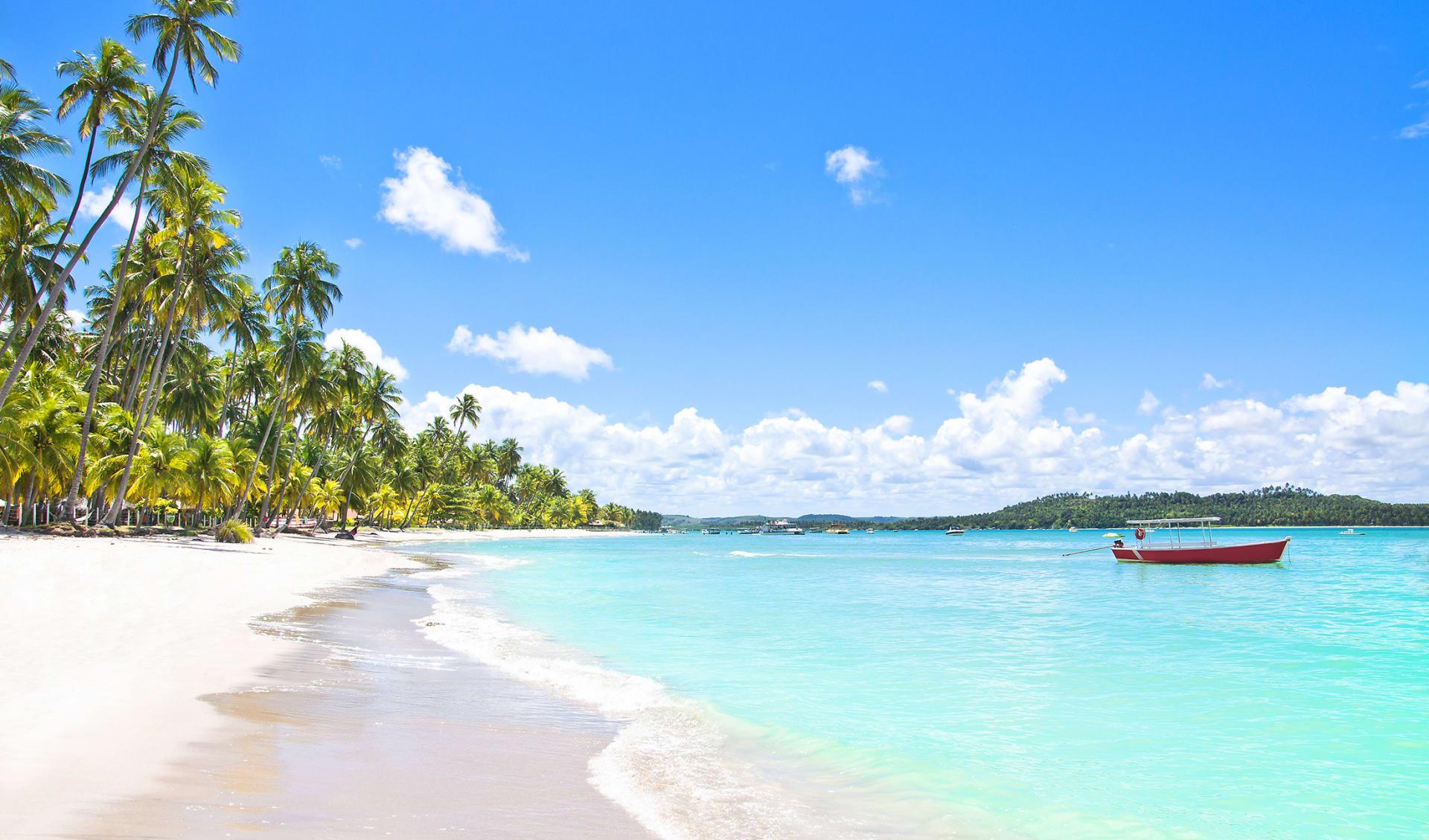 Carneiros Beach, Pernambuco, Brasilien