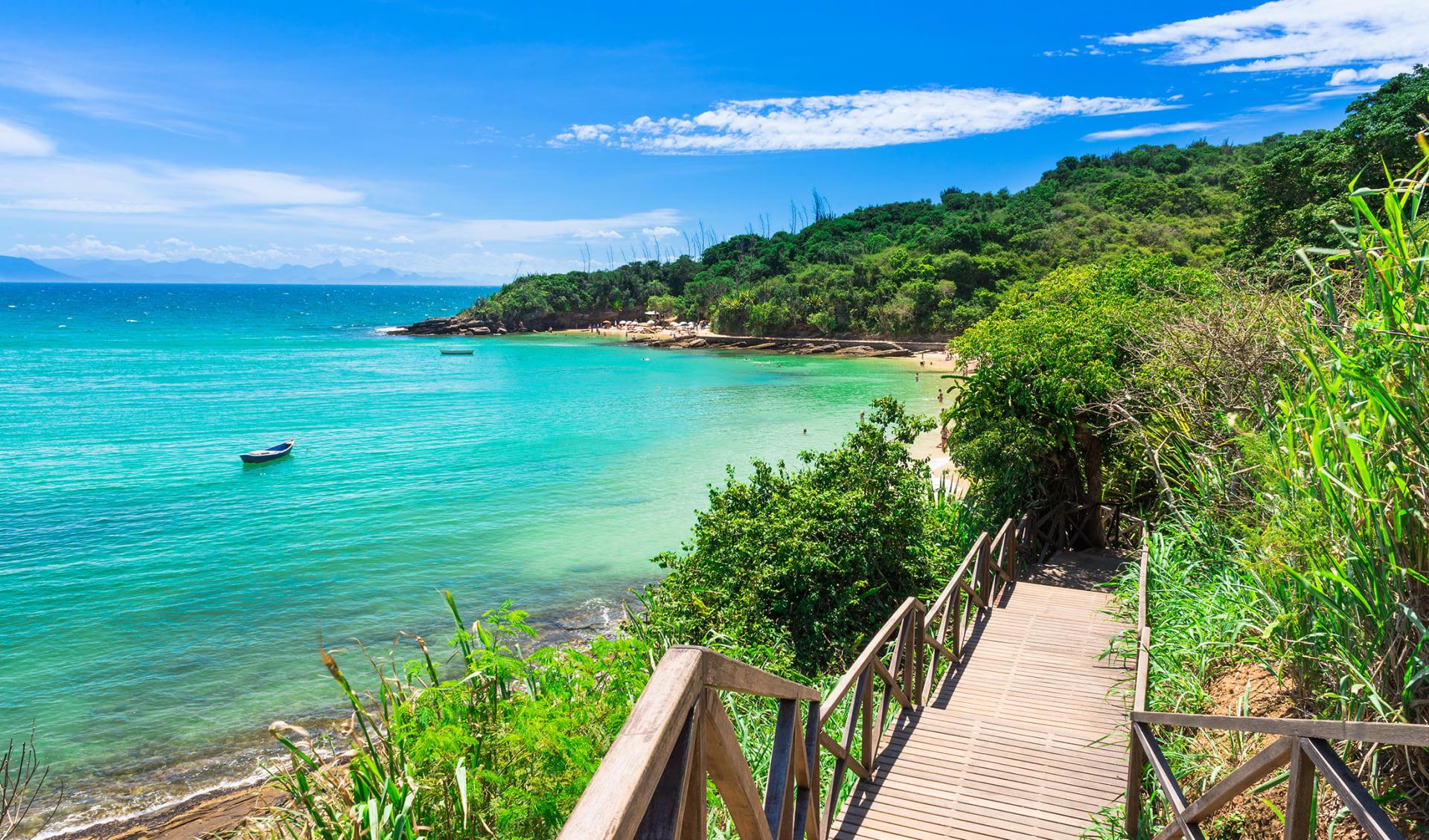 Azeda Beach in Buzios, Brasilien