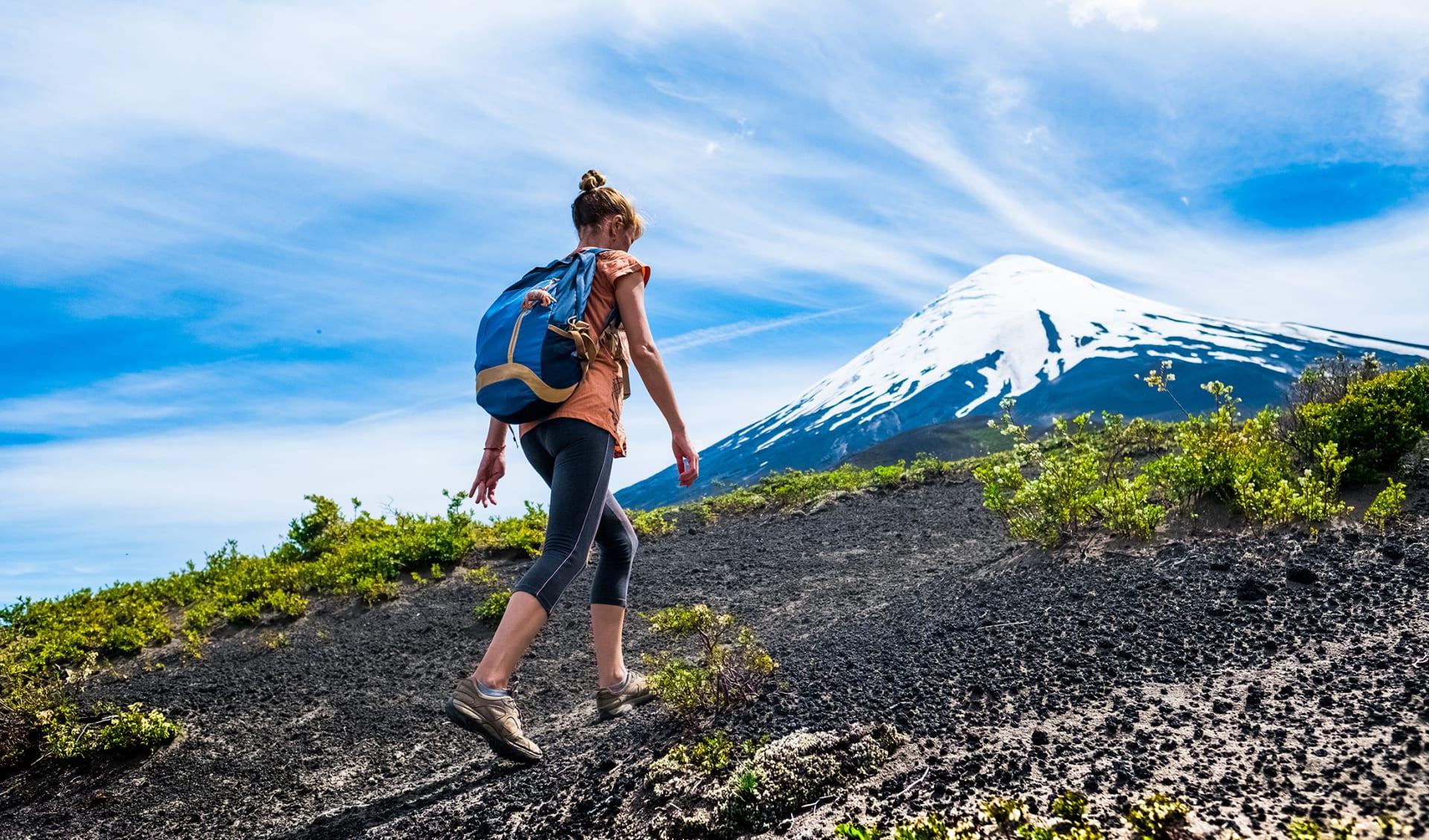 Vulkan Osorno, Trekking, Chile