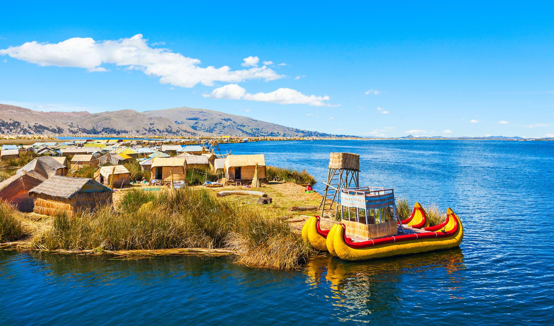 Uros, Titicaca See, Peru