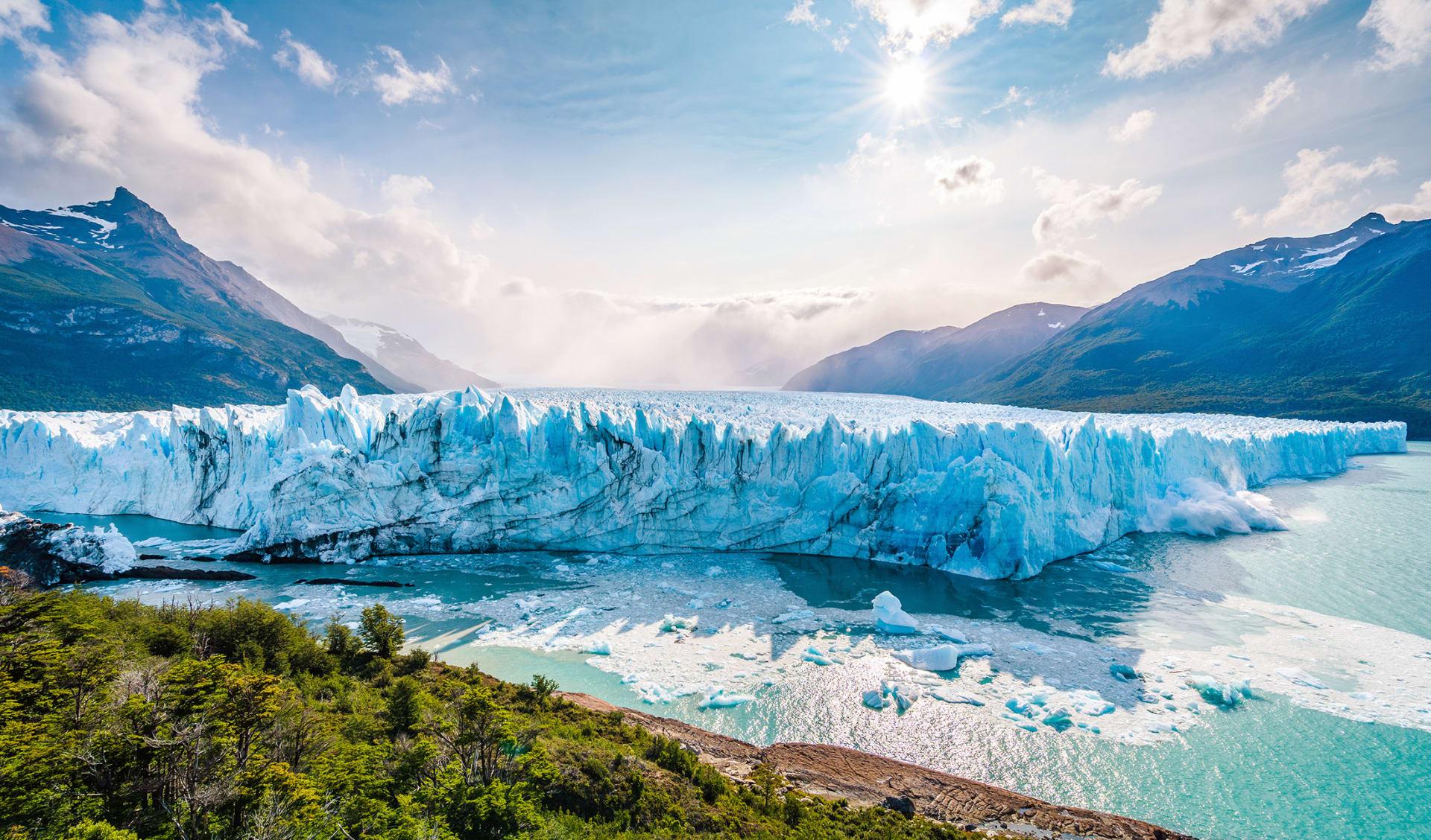 Perito Moreno Glacier, Argentinien