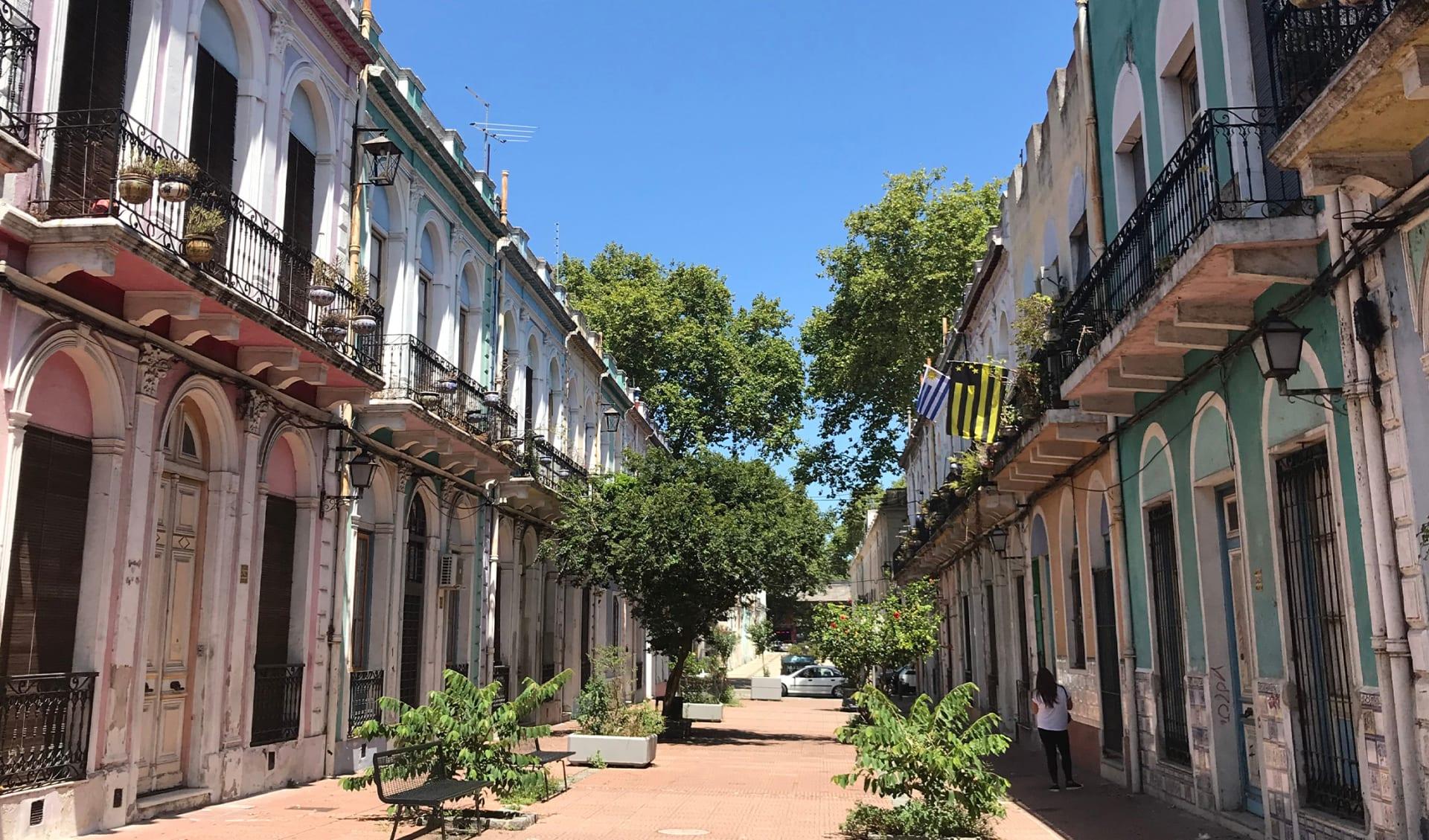 Altstadt Montevideo, Uruguay