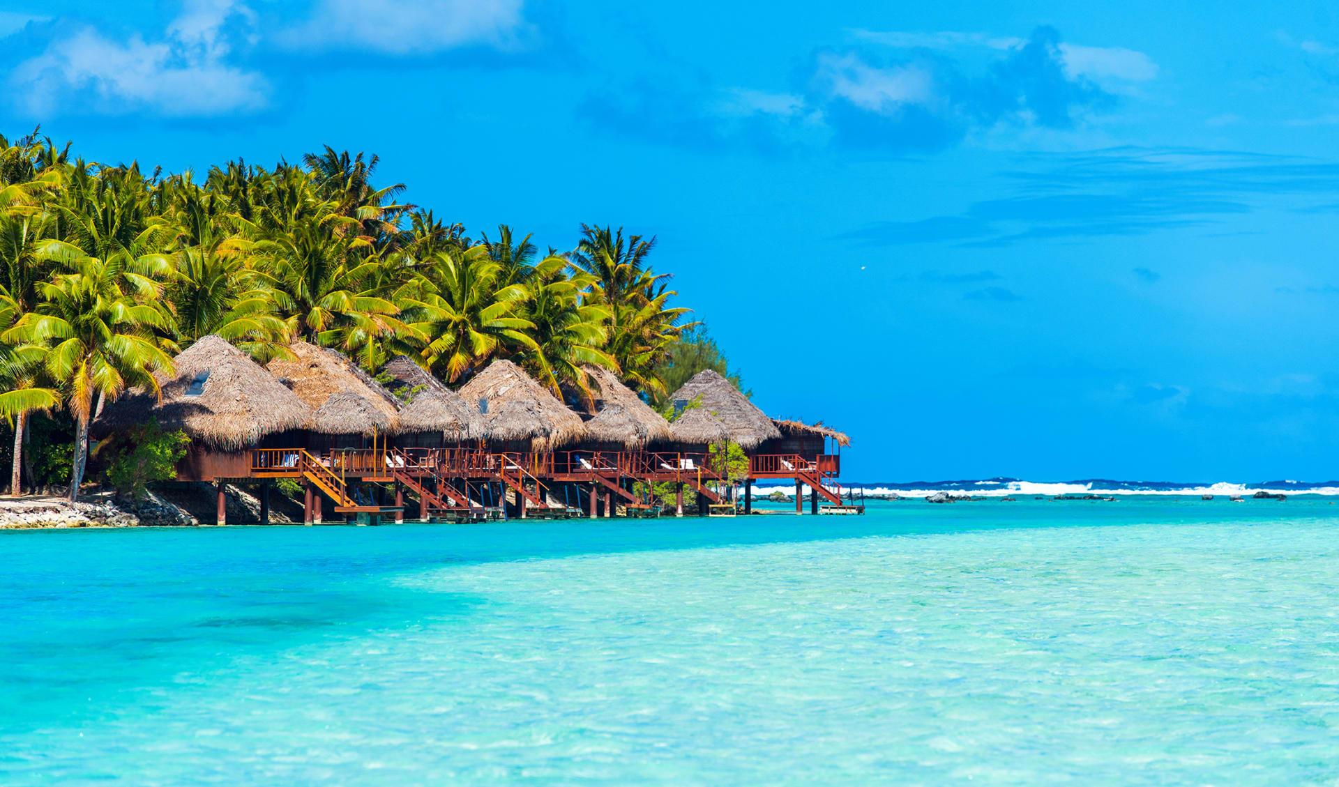 Flitterwochen, Cook Islands