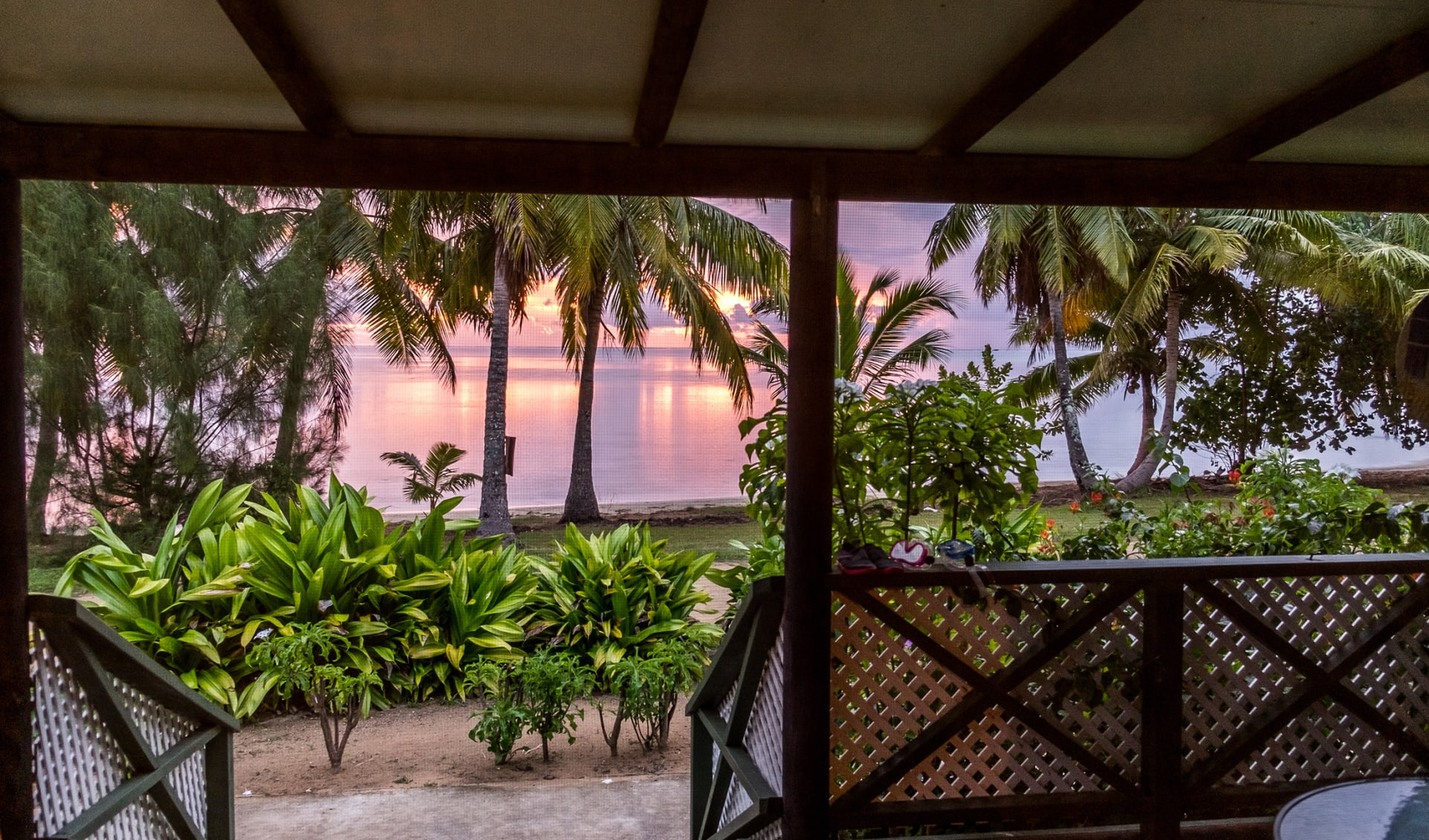 Flitterwochen, Aitutaki, Cook Islands