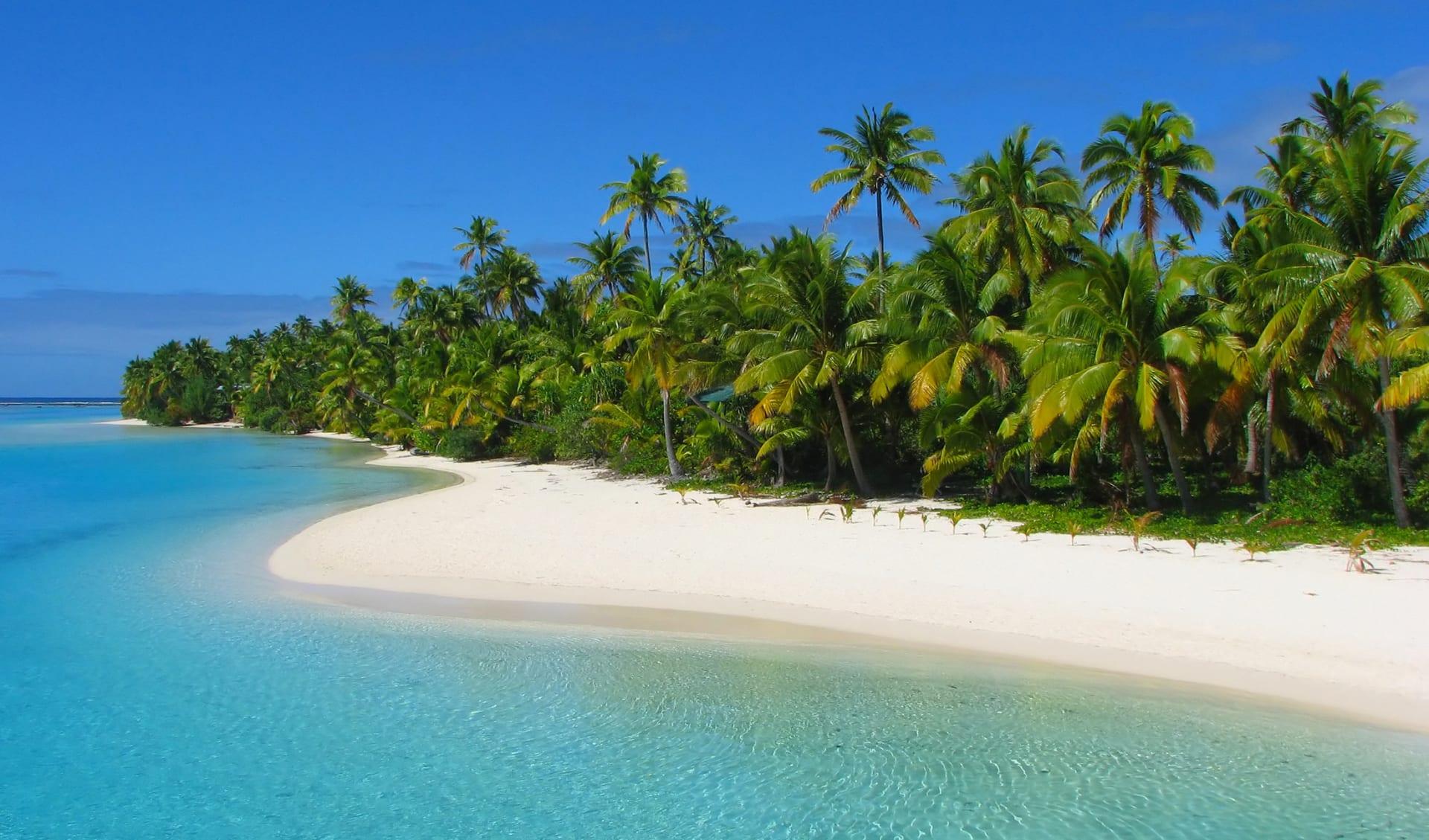 Flitterwochen, Aitutaki,, Cook Islands