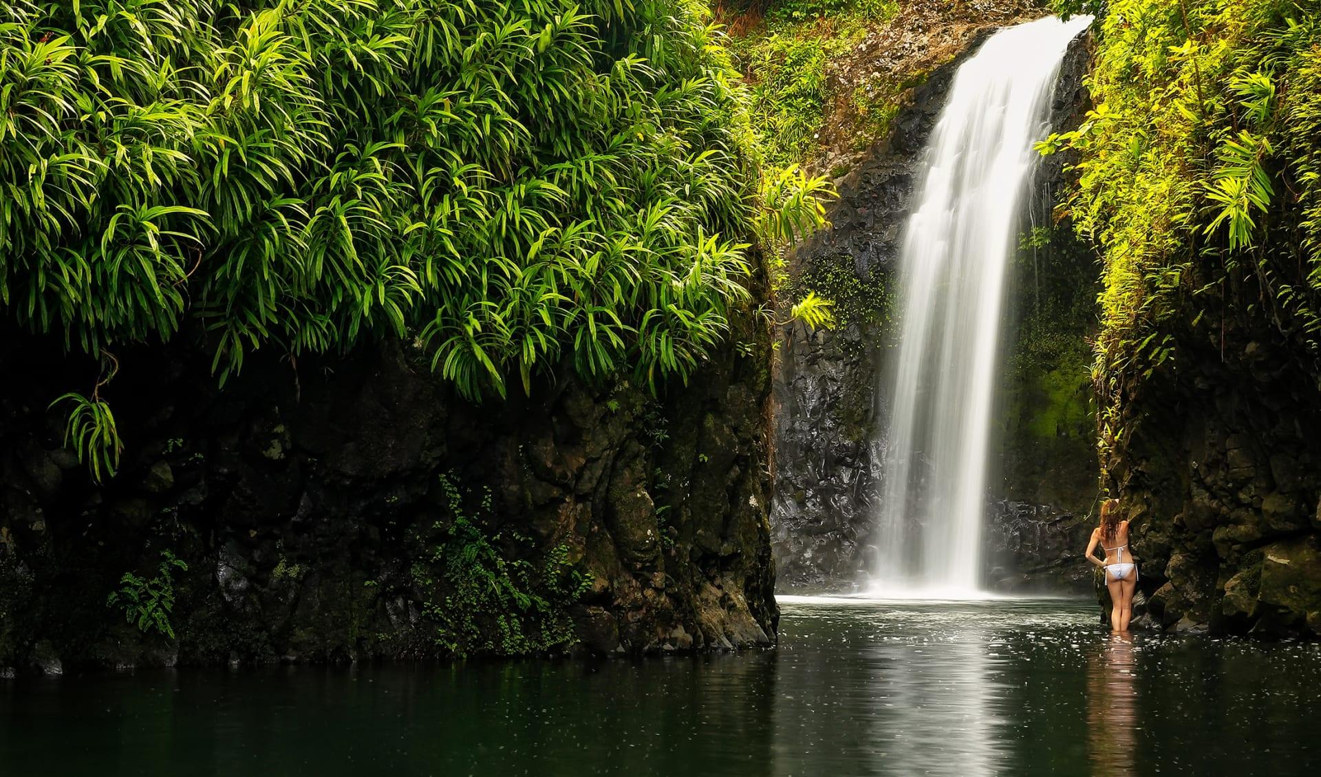 Wainibau Wasserfall, Taveuni, Fiji