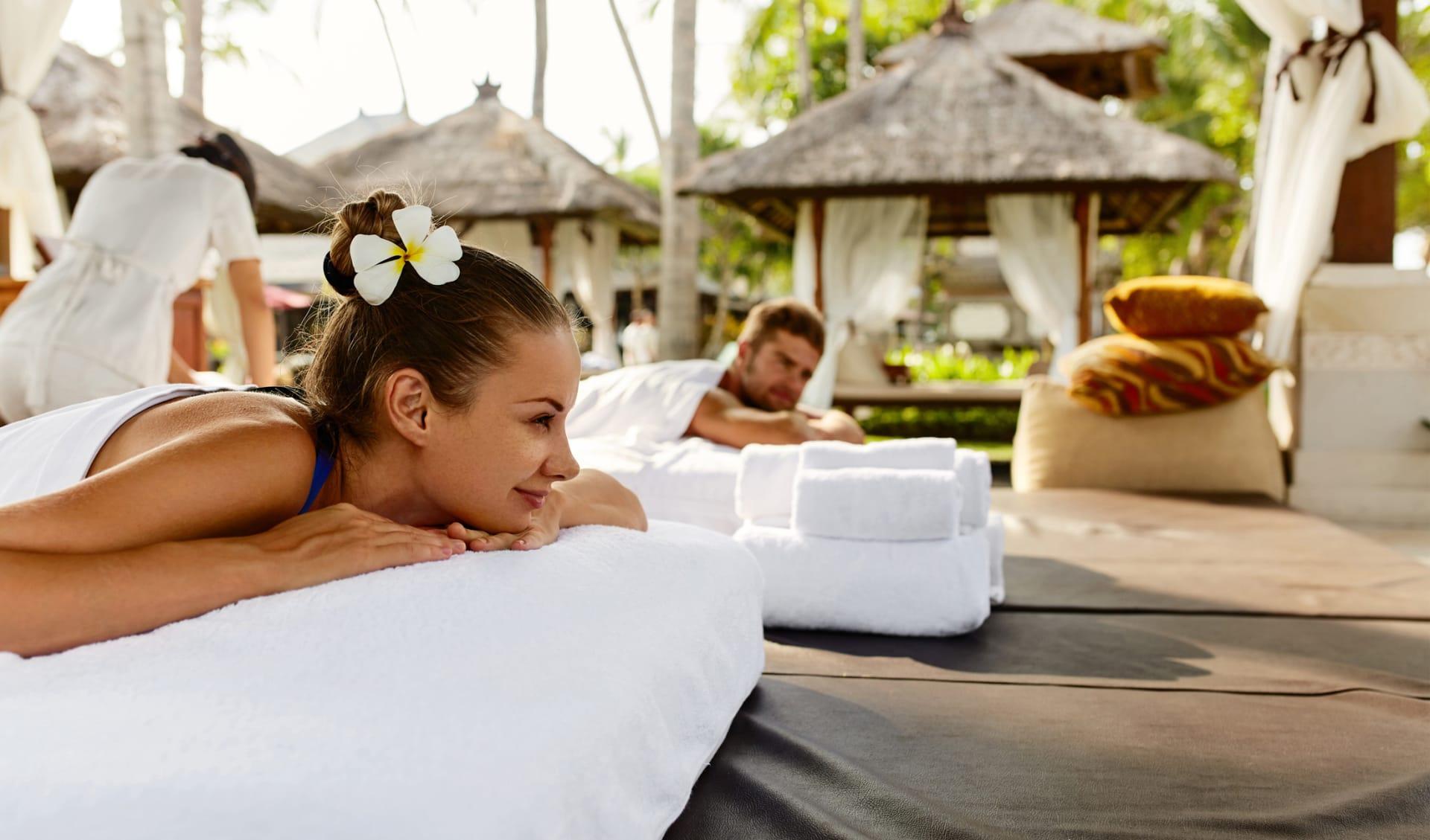 Massage, Flitterwochen, Neukaledonien