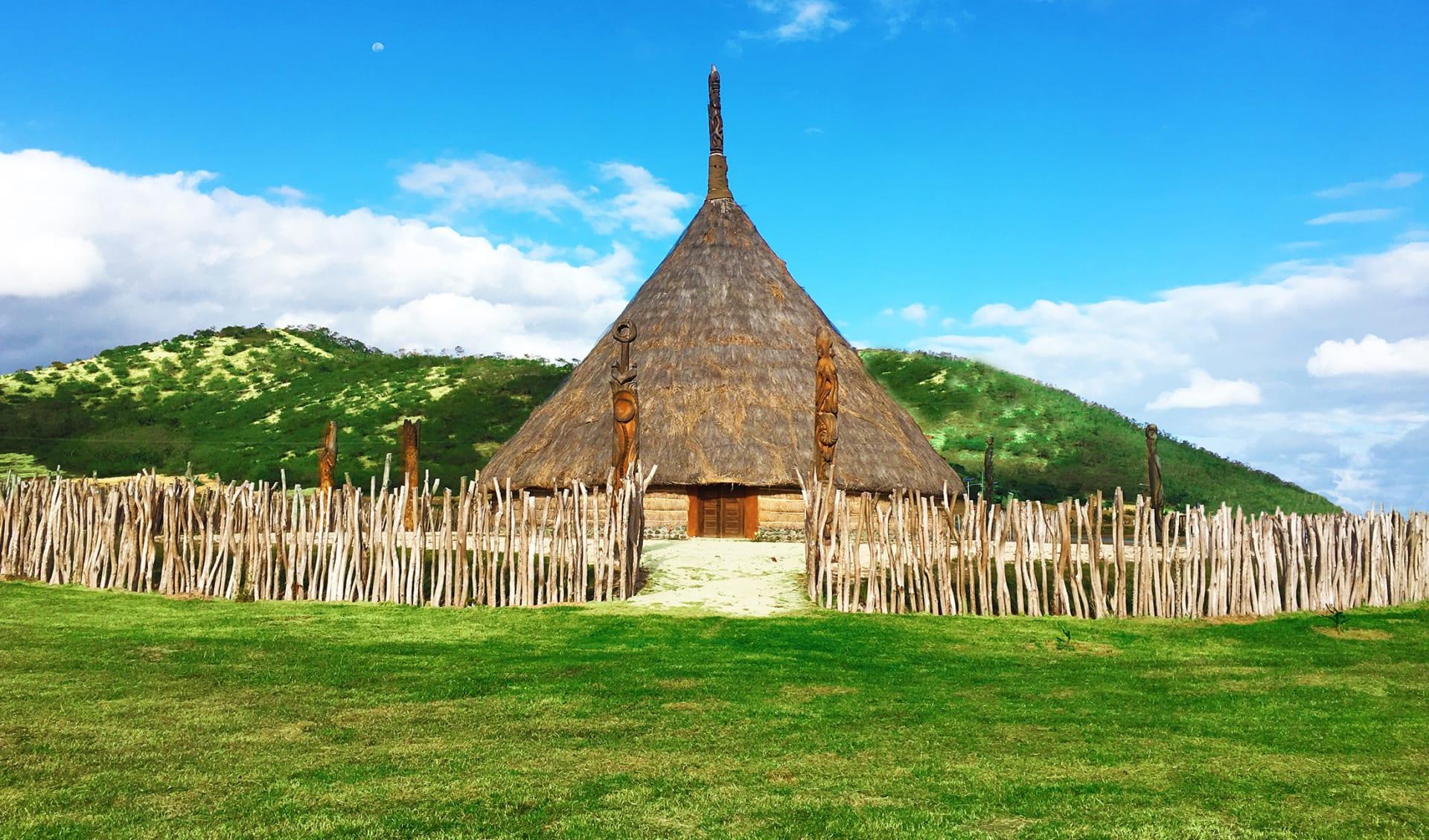 Kanak Haus, Neukaledonien