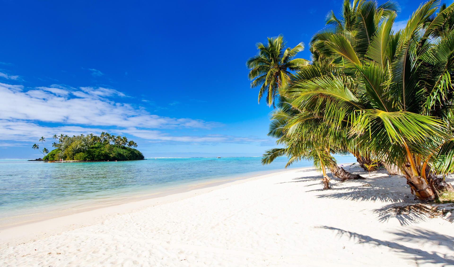 Strand, Cook Islands