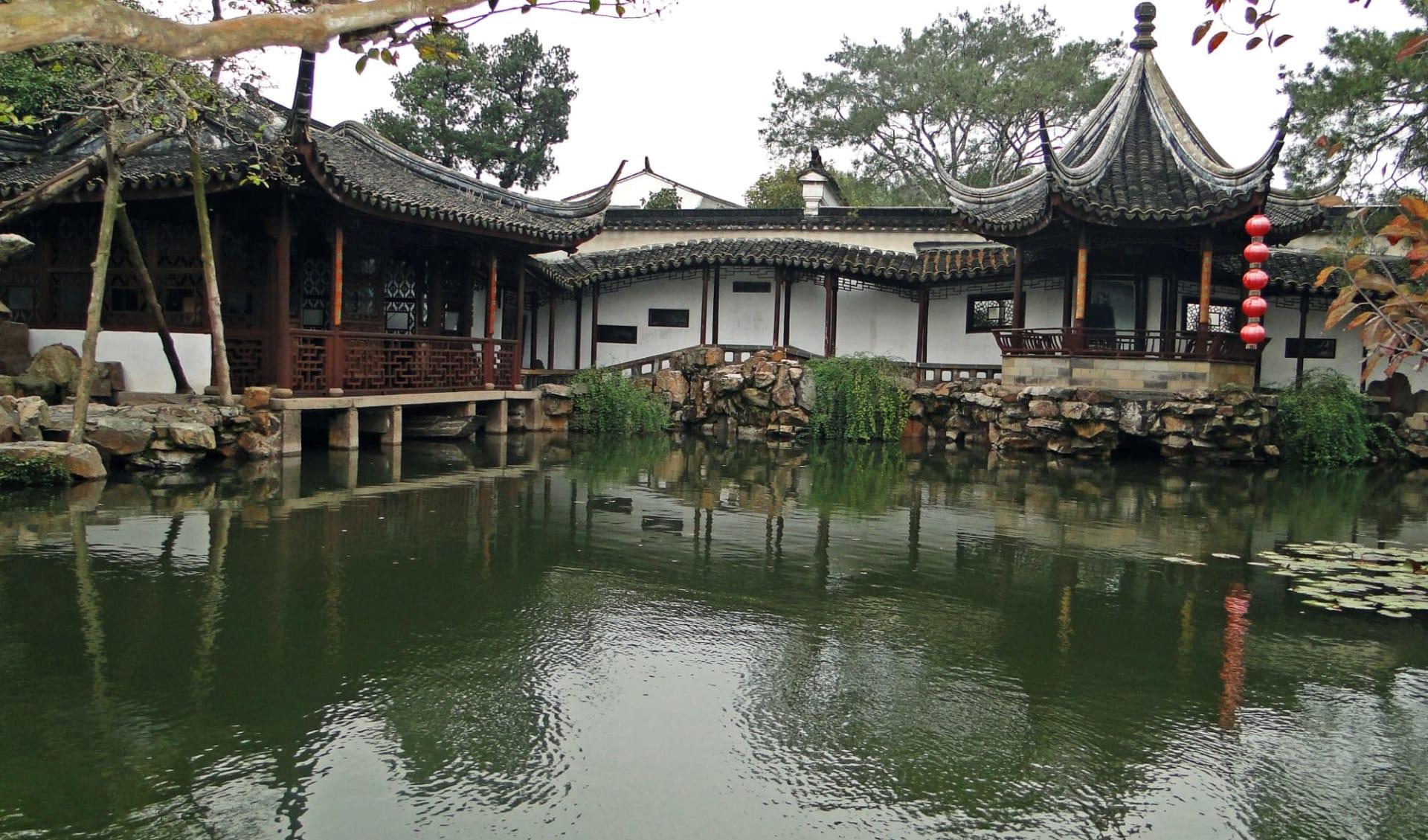 Tongli - Suzhou - Hangzhou Tour ab Shanghai: Suzhou: Garden of Net's Master