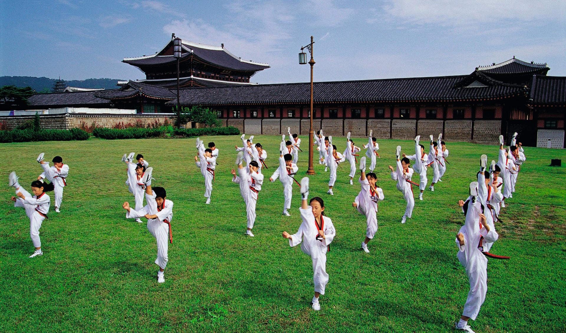 Südkorea aktiv erleben ab Seoul: Taekwondo